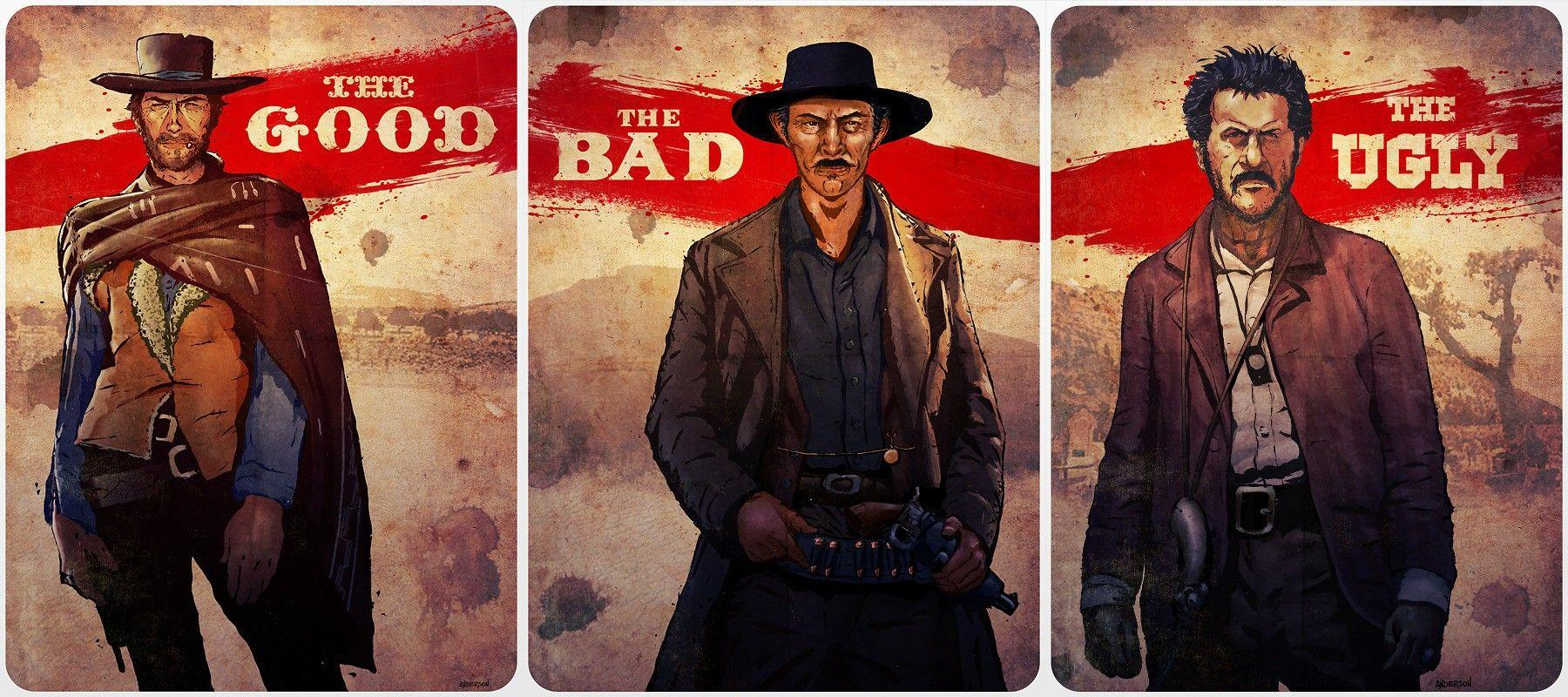 Clint Eastwood, The Good, The Bad and the Ugly Wallpapers HD