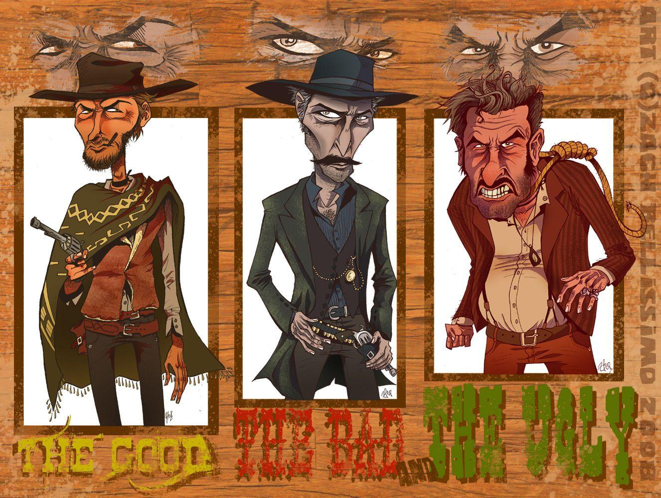 the good the bad and the ugly Wallpapers and Backgrounds