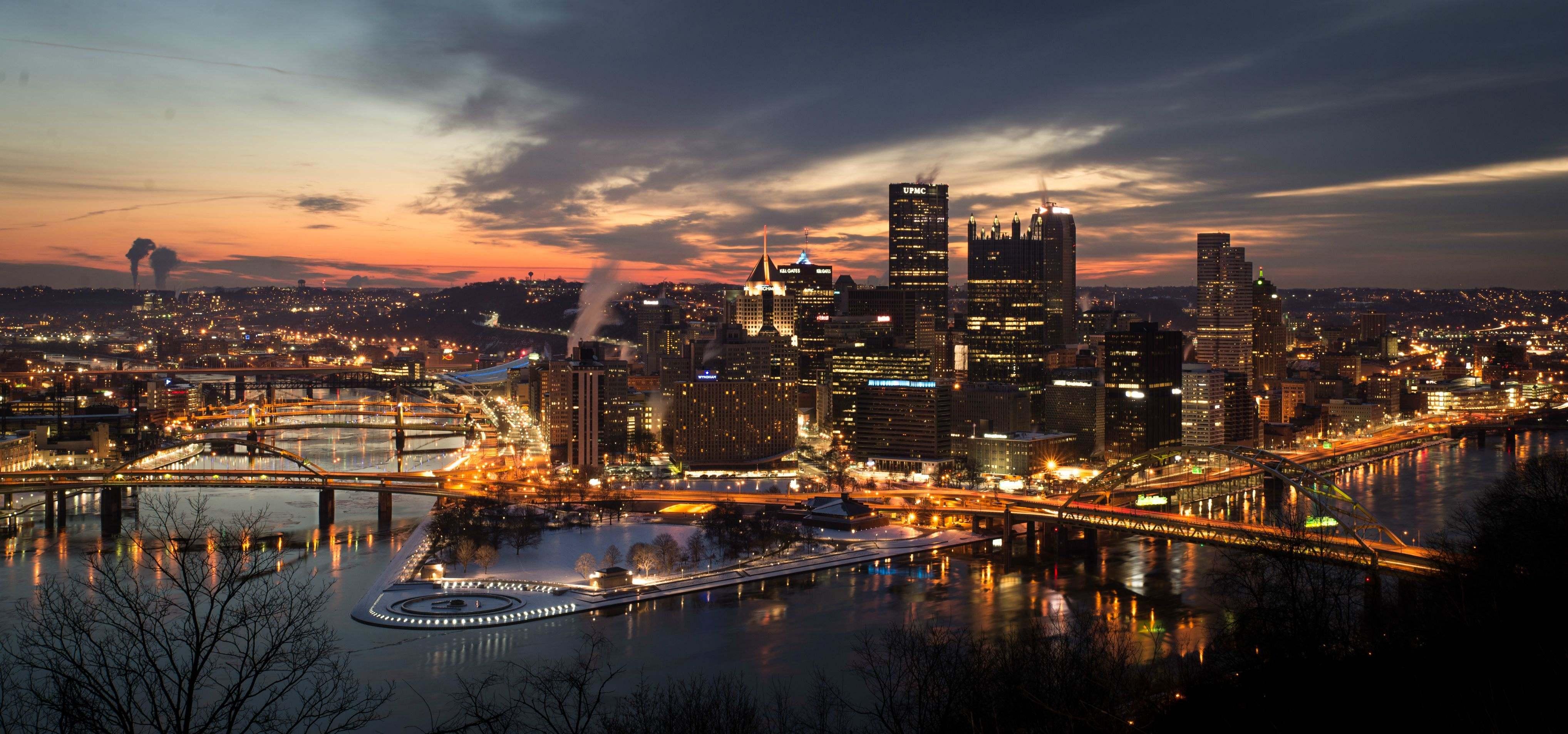 Pittsburgh Desktop Wallpaper Skyline: Pittsburgh City Wallpapers
