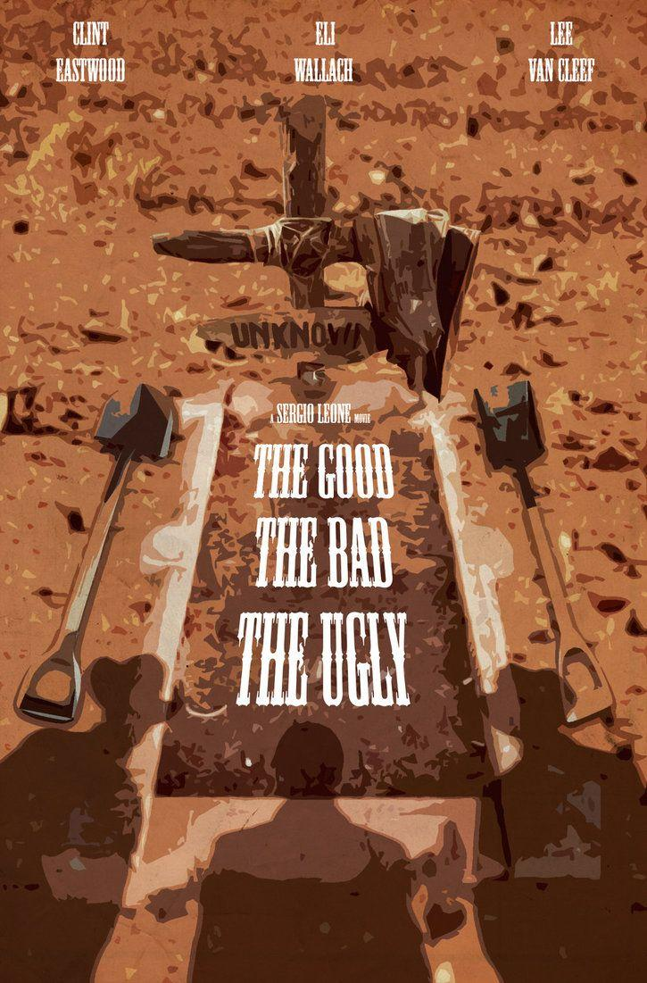 the good the bad the ugly fan poster by hessam