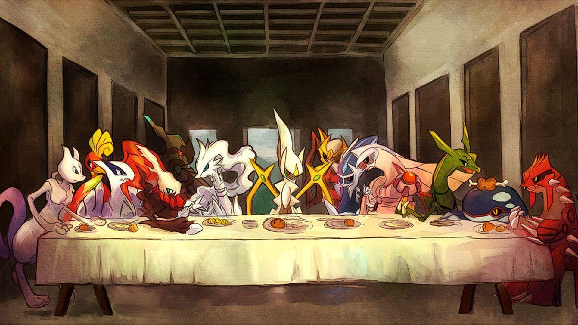 11 Arceus (Pokémon) HD Wallpapers | Background Images - Wallpaper Abyss