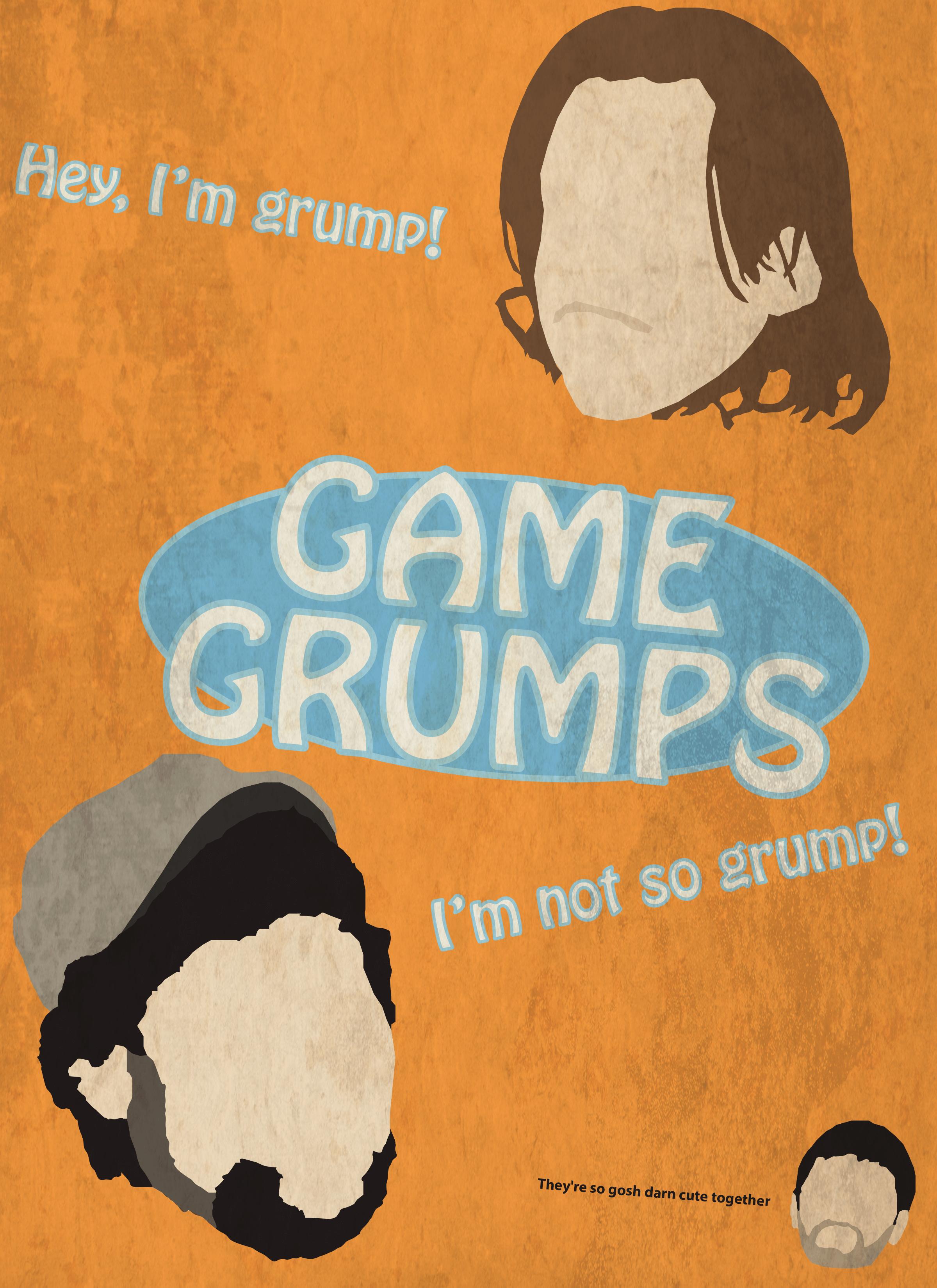 Game Grumps Poster by Twosaxy on DeviantArt