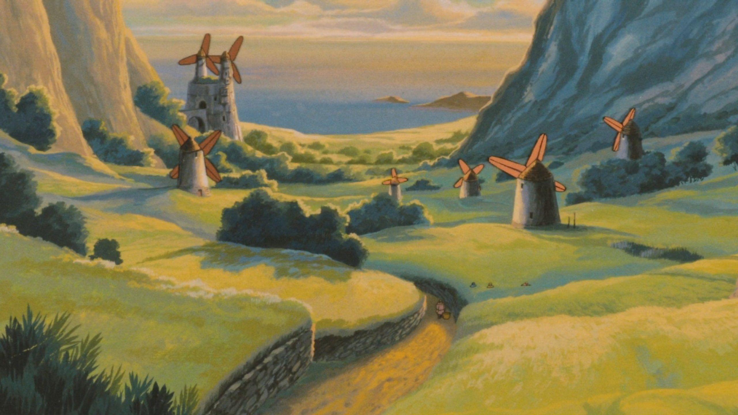 Nausicaa Valley Wind Anime Fantasy Adventure Nausicaa Valley Wind