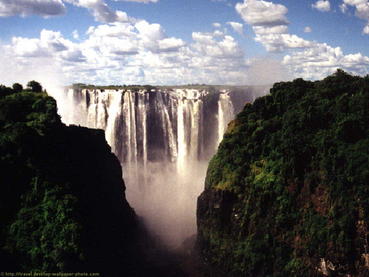 Victoria Falls wallpaper - free background picture for your ...