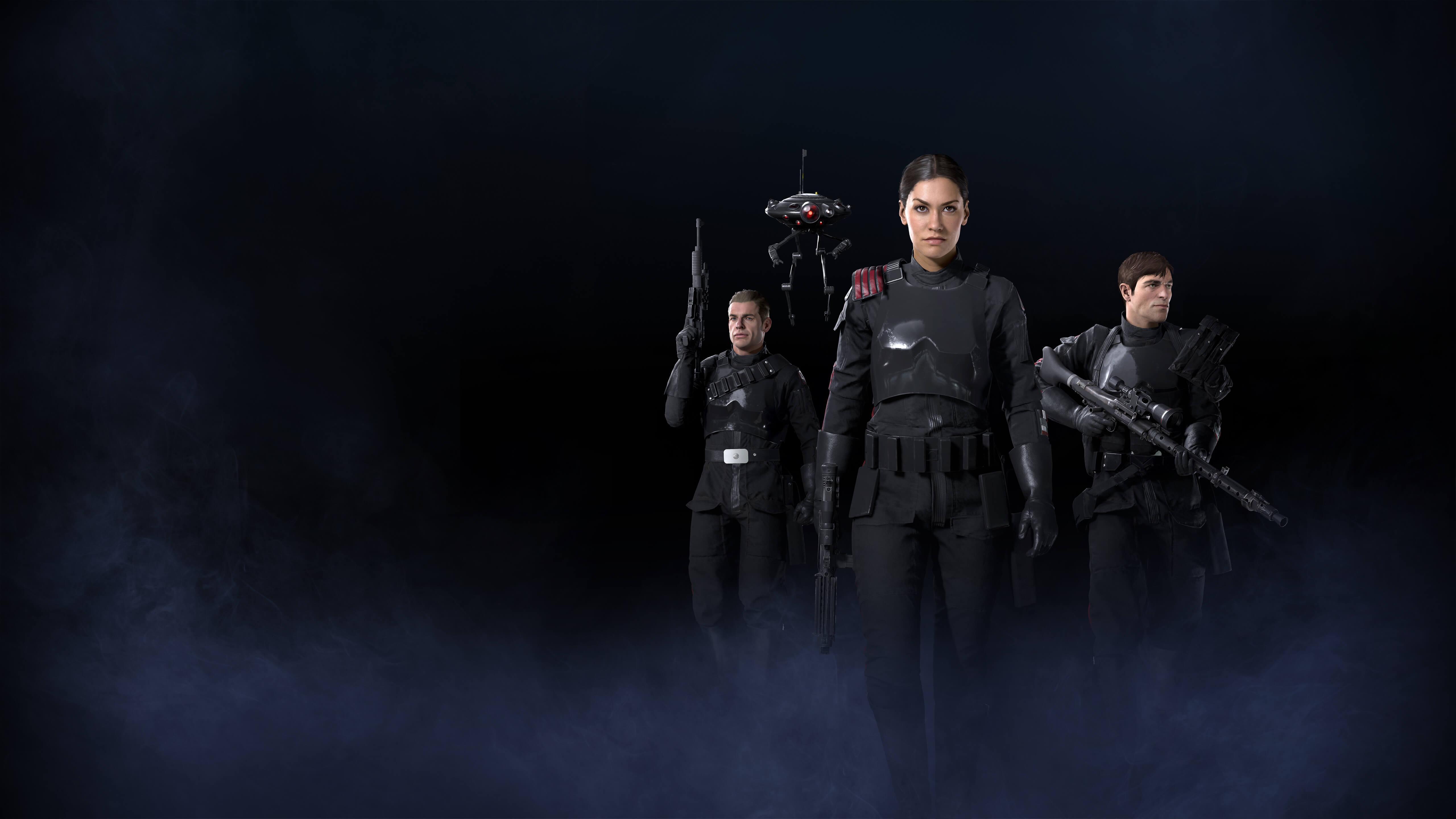 Wallpaper Star Wars Battlefront II, Inferno Squad, Gideon Hask ...