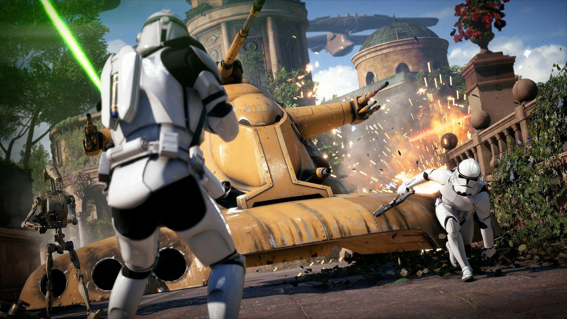 Star Wars Battlefront 2 – PS Wallpapers