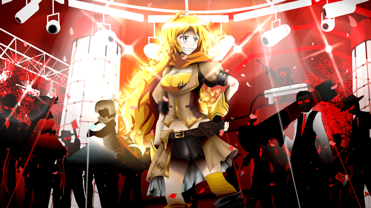 RWBY - Yang Xiao Long by ~SSgt-LuLZ on deviantART | Sator Square ...