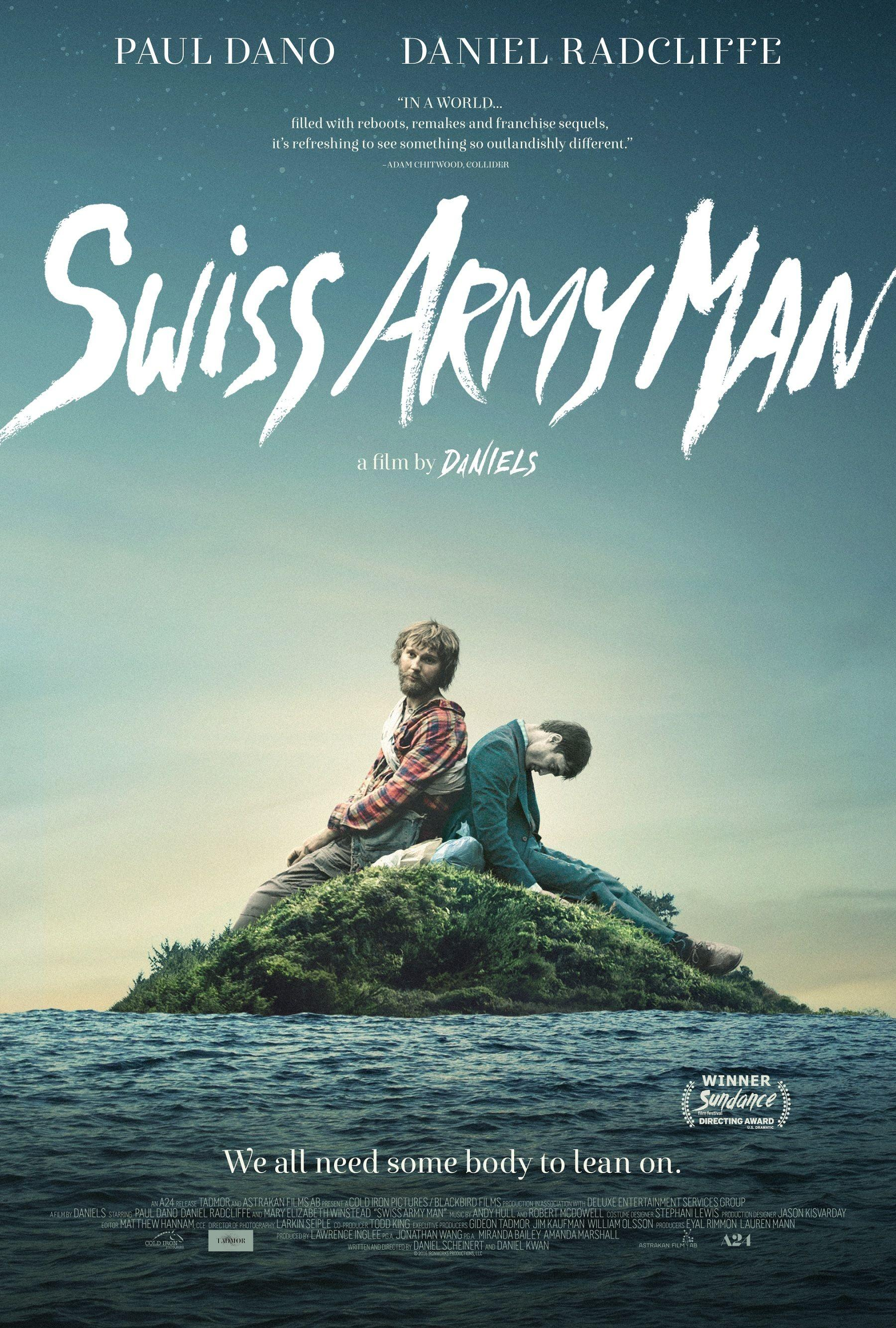 Swiss Army Man 2016 Movie Posters | JoBlo Posters