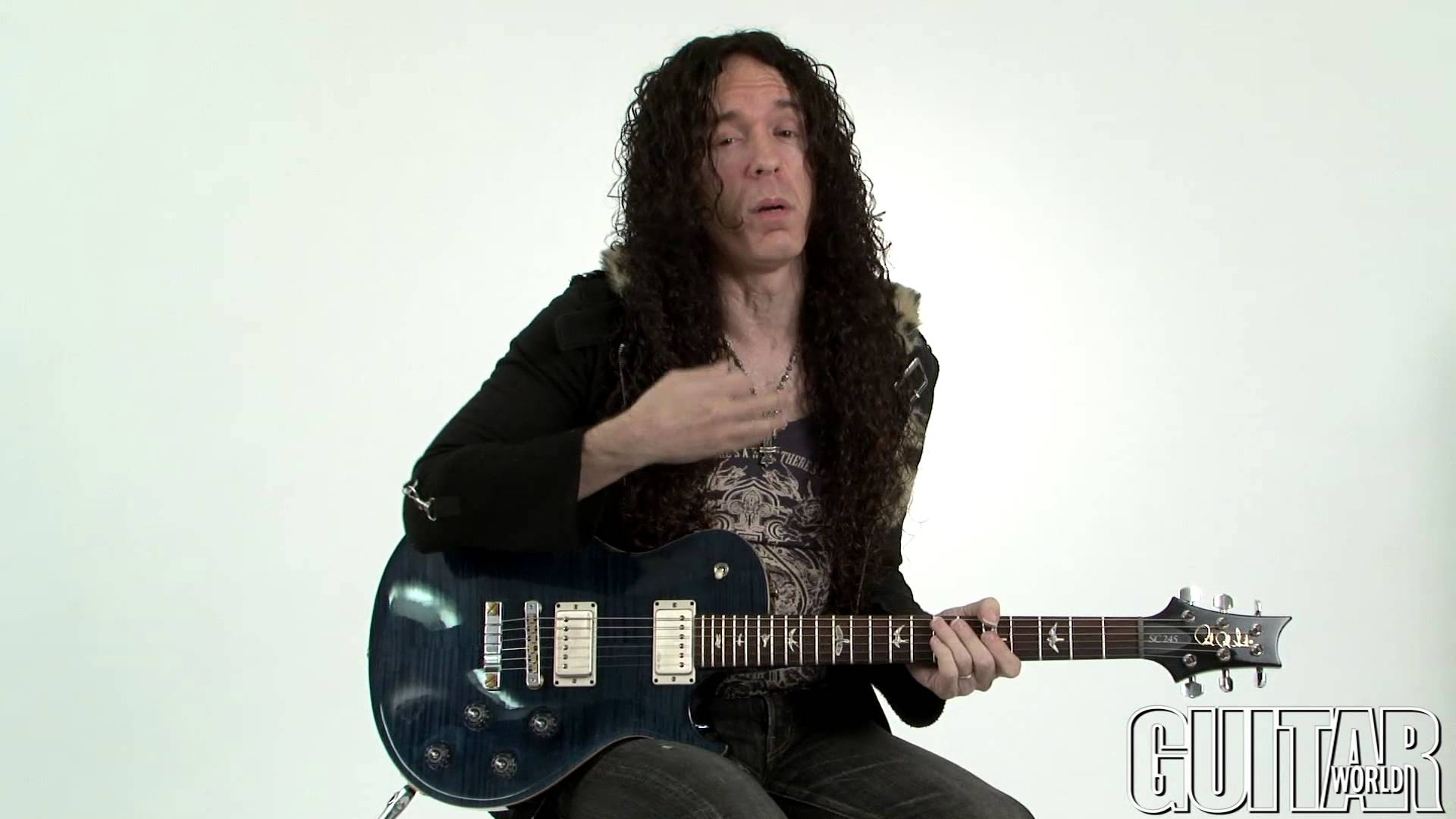 Marty Friedman Shred Lesson - Melodic Ideas and Patterns - YouTube