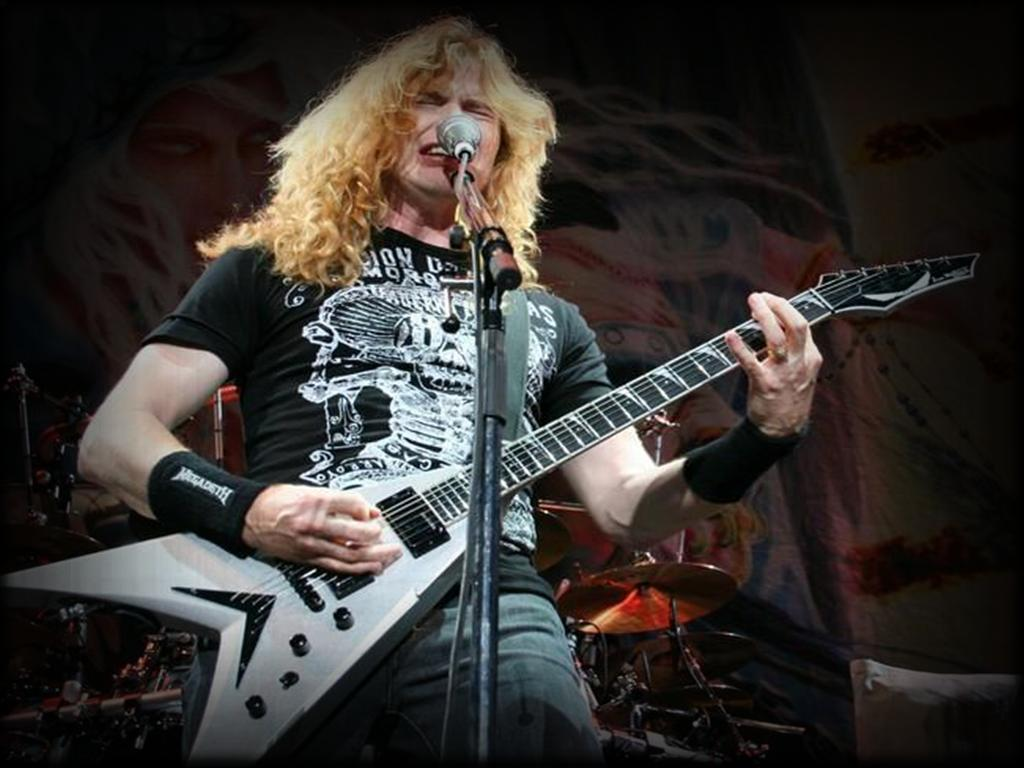 Dave Mustaine Wallpaper - WallpaperSafari
