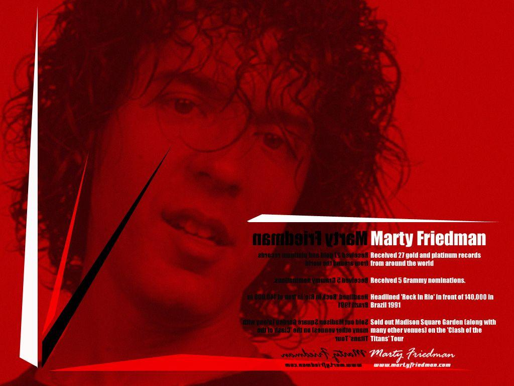 Marty Friedman Official Website::