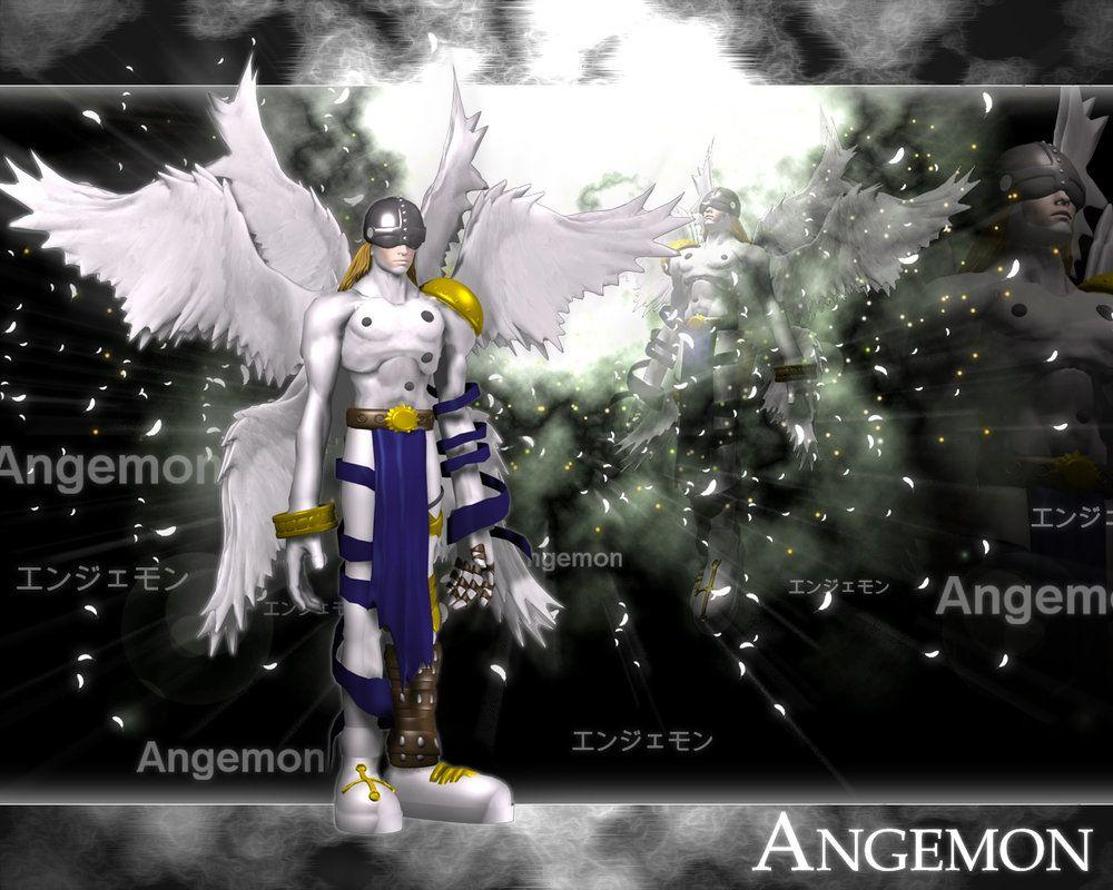 Angemon 3d by me by EAA123 on DeviantArt