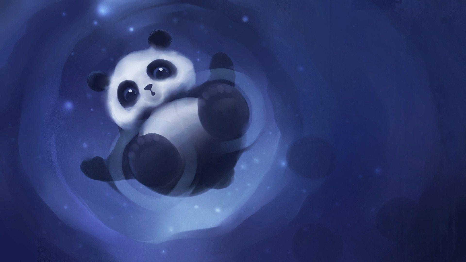 Cute Pandas Wallpapers Wallpaper Cave
