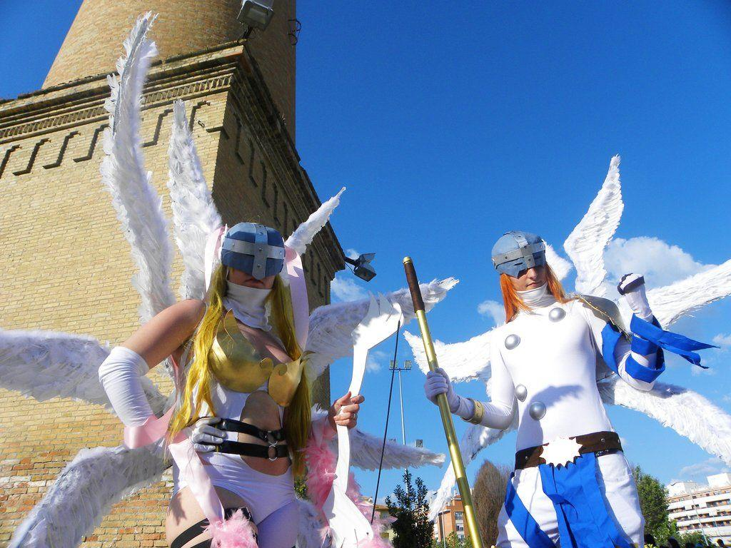 Angewomon and Angemon Cosplay. by LeydaCosplay on DeviantArt