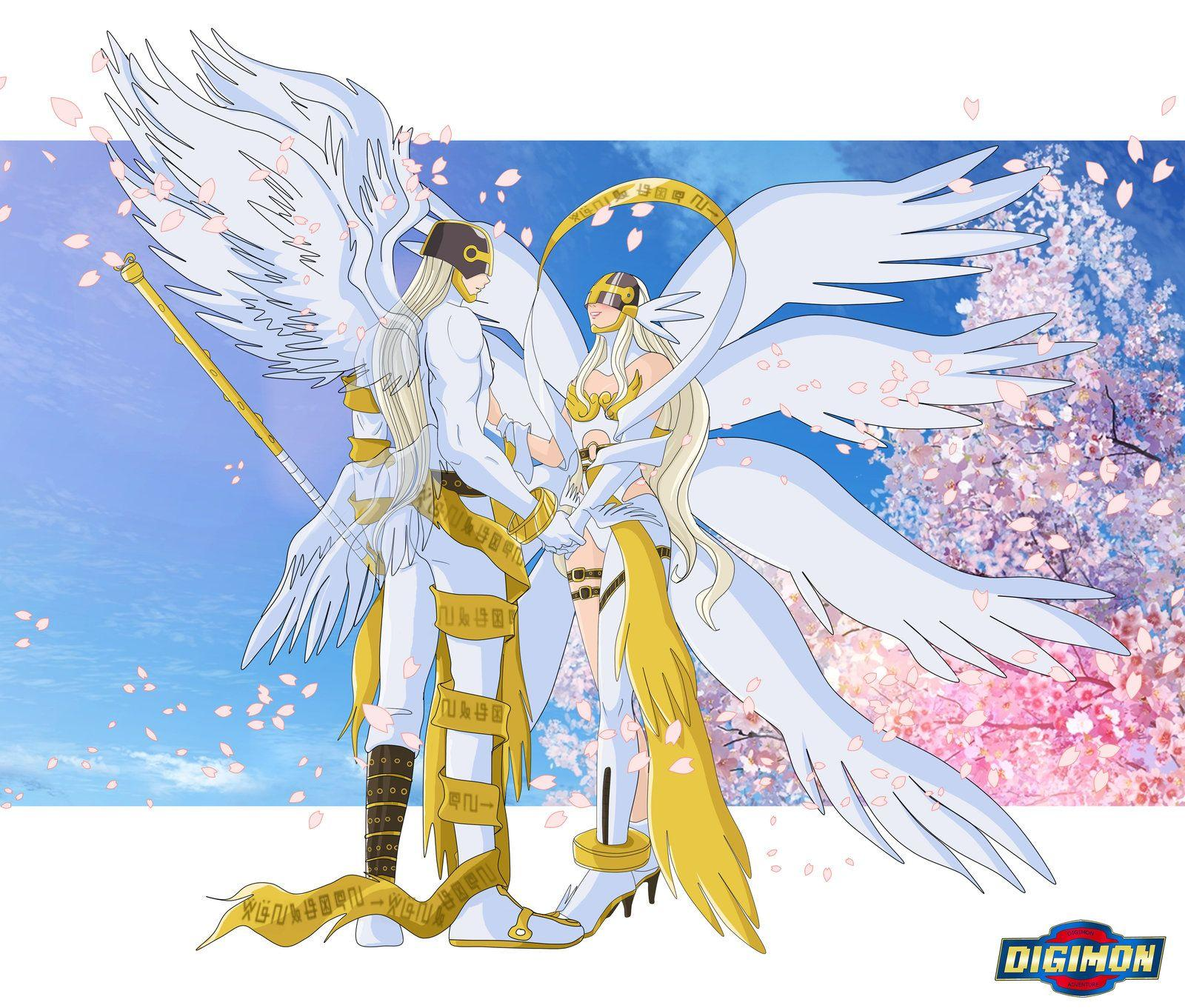 Meet Angemon and Angewomon from Reality XII by Ayhelenk on ...