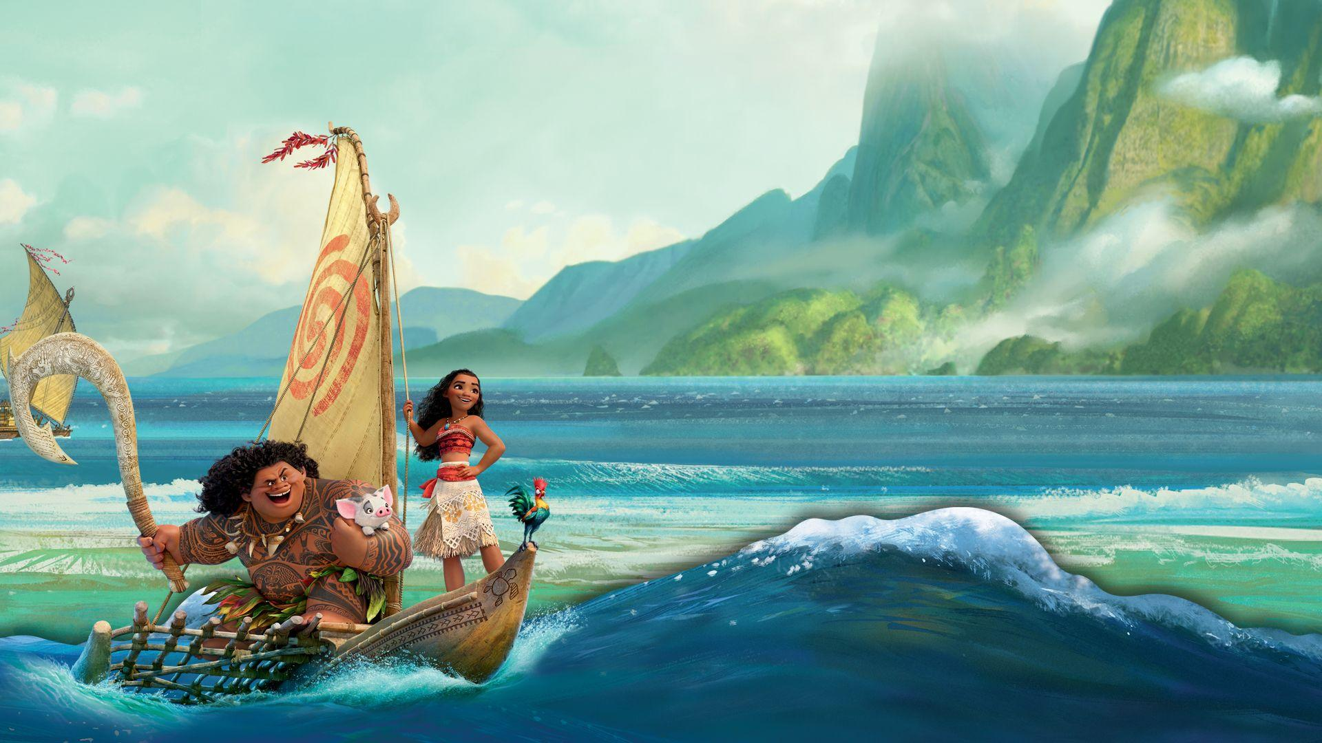 Moana Disney Wallpapers - My Free Wallpapers Hub