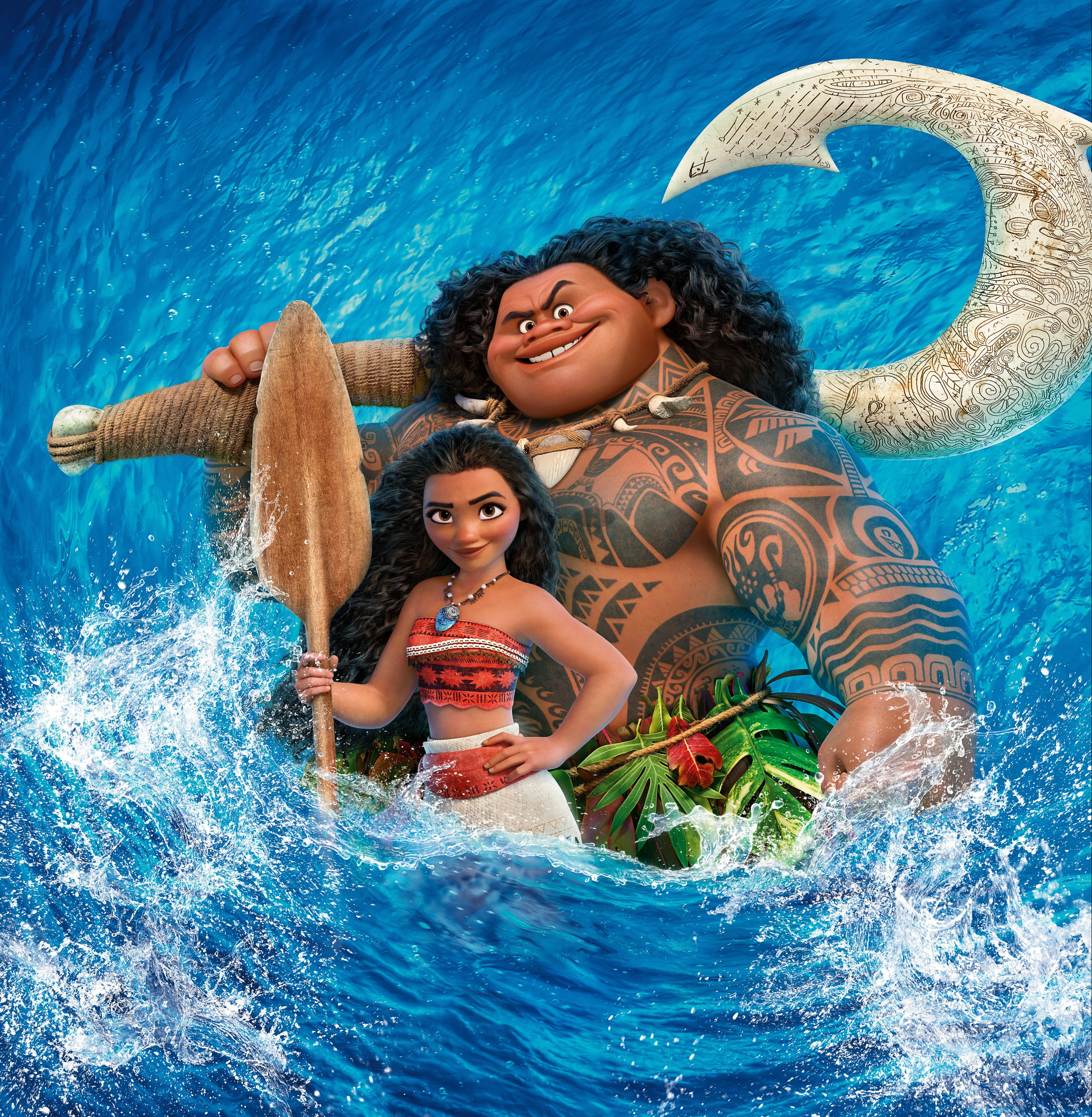 Wallpaper Moana, Animation, Disney, HD, 5K, Movies, #3776