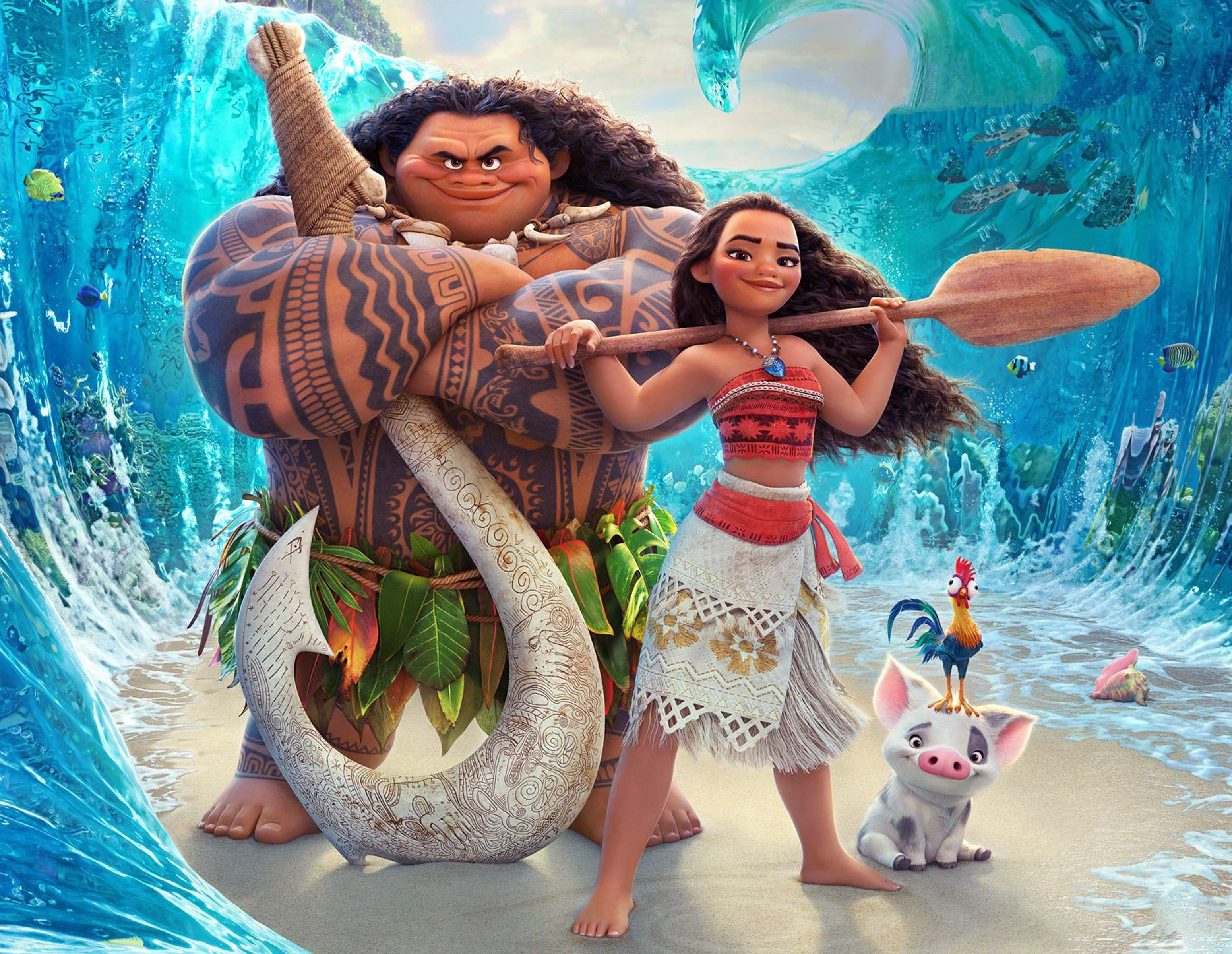 Moana!!! I love Moana and I love all the characters like Moana ...