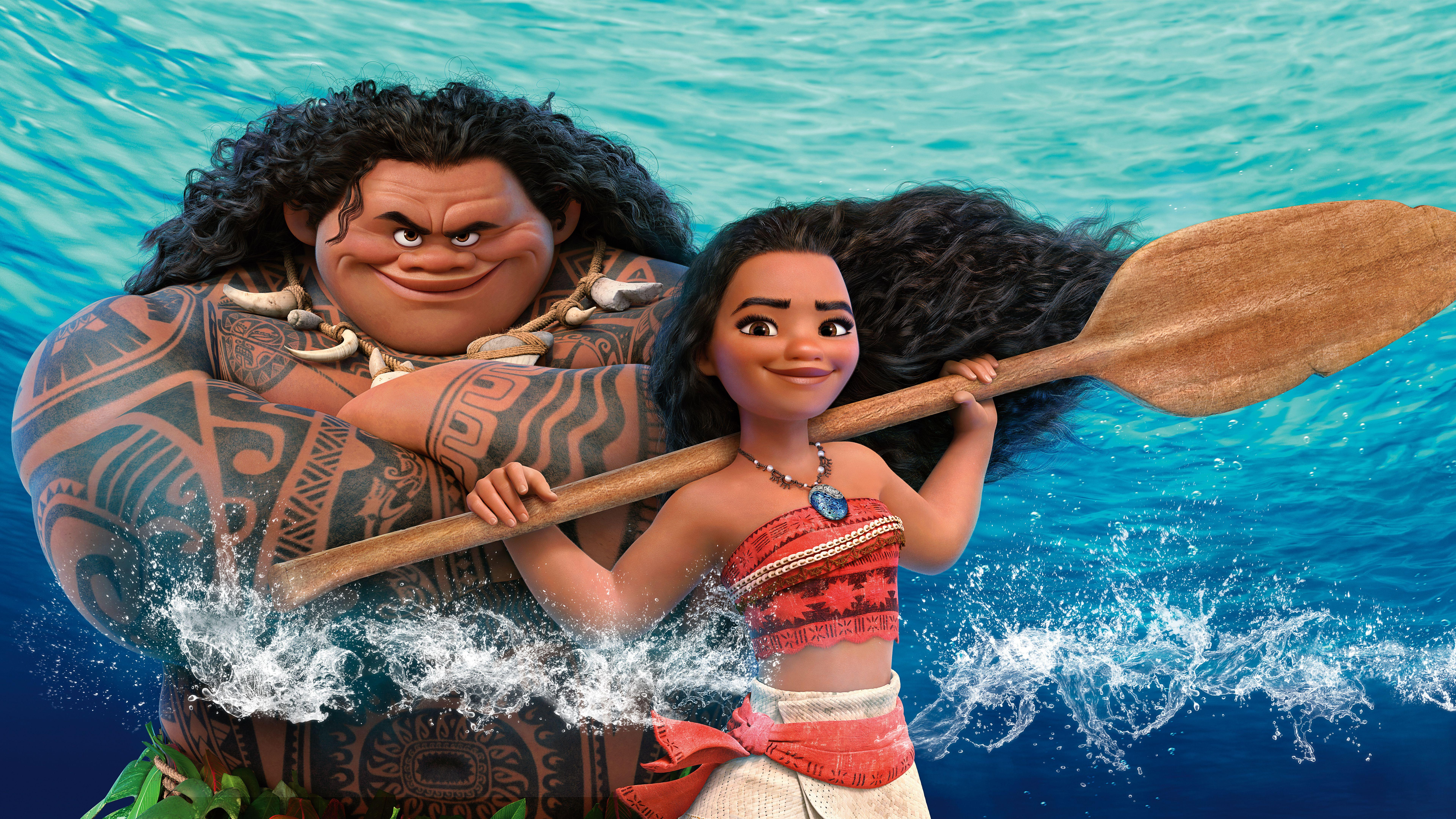 Wallpaper Moana, Animation, HD, 8K, Movies, #3769