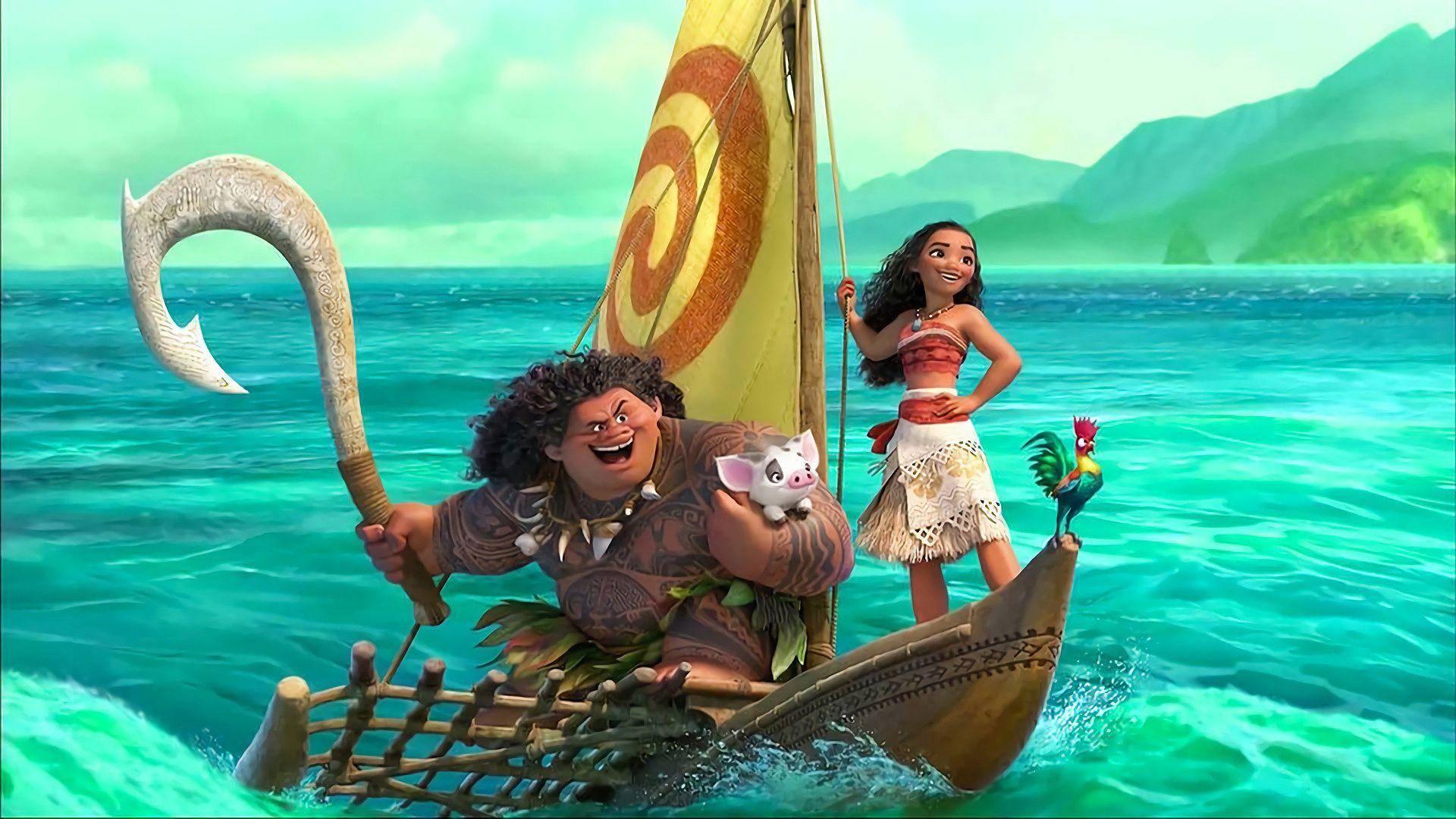 Moana 2016 Disney Animated Movie Wallpaper #17233