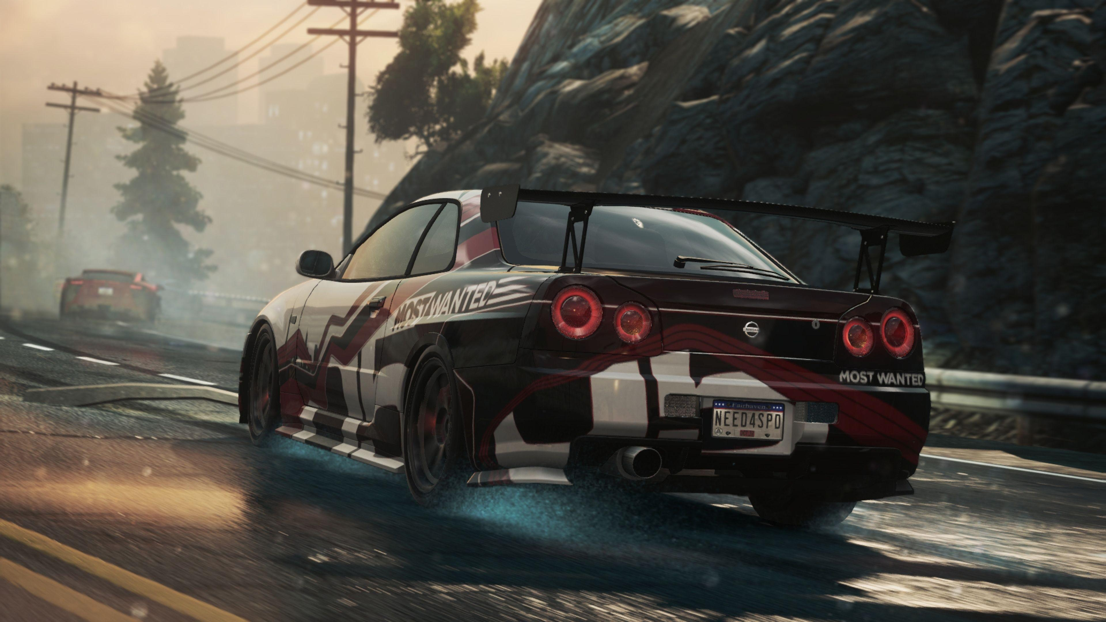 Download Wallpaper 3840x2160 Need for speed, Nissan skyline gt-r ...