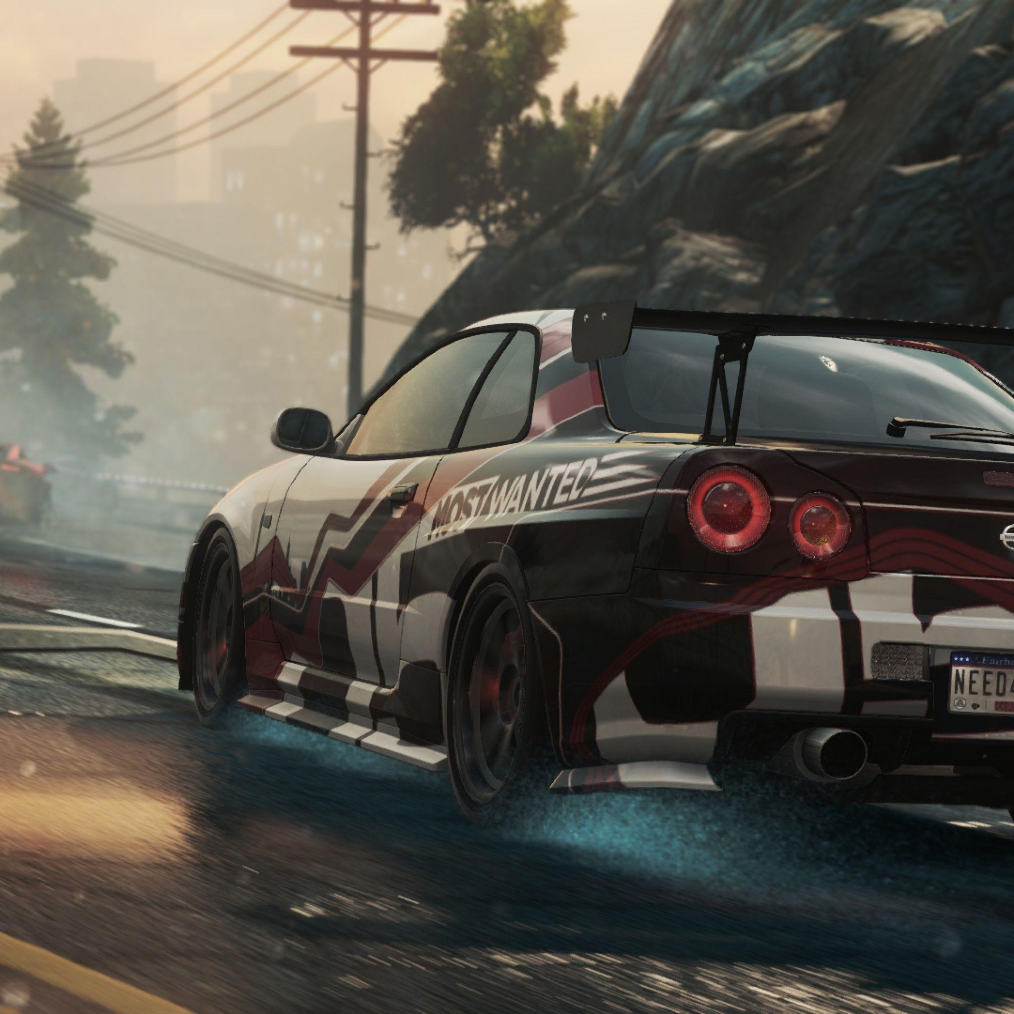 Download Wallpaper 2048x2048 Need for speed, Nissan skyline gt-r ...