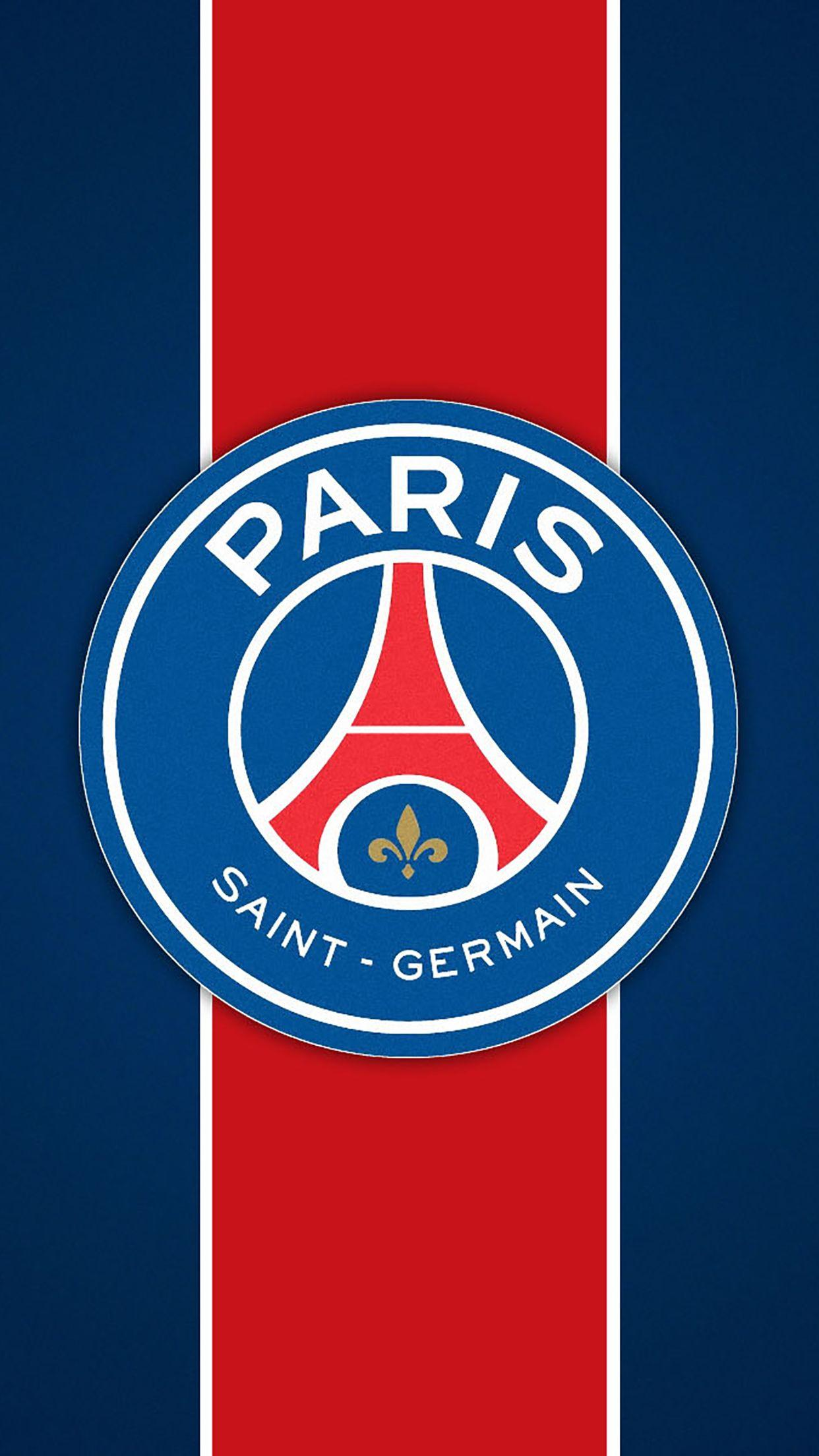 Wallpaper HD iPhone Paris Saint Germain (PSG) : Logo 1 - Free Download