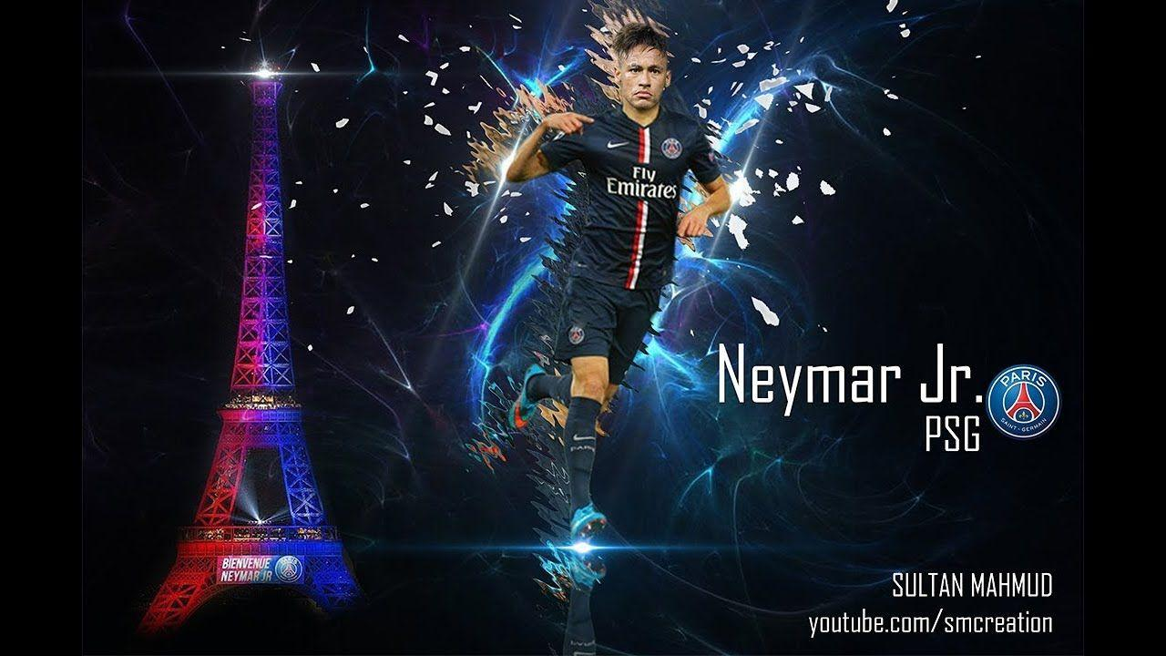 Neymar Jr. Official PSG Presentation 2017 | photo manipulation ...