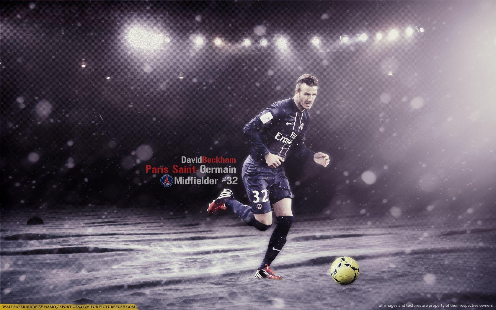 David Beckam Psg Wallpaper Widescren #6931651