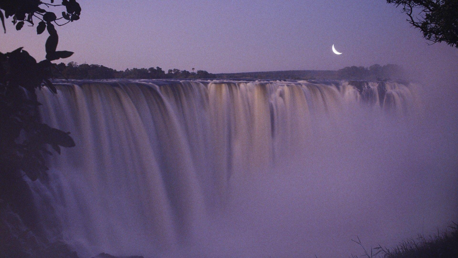 Waterfalls: Victoria Zimbabwe Falls Beautiful 3d Nature Wallpapers ...