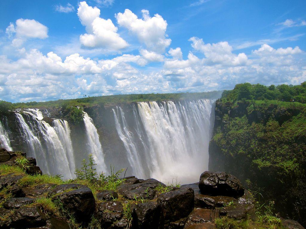 Victoria Falls 4 HD Wallpaper | Landmarks Wallpapers