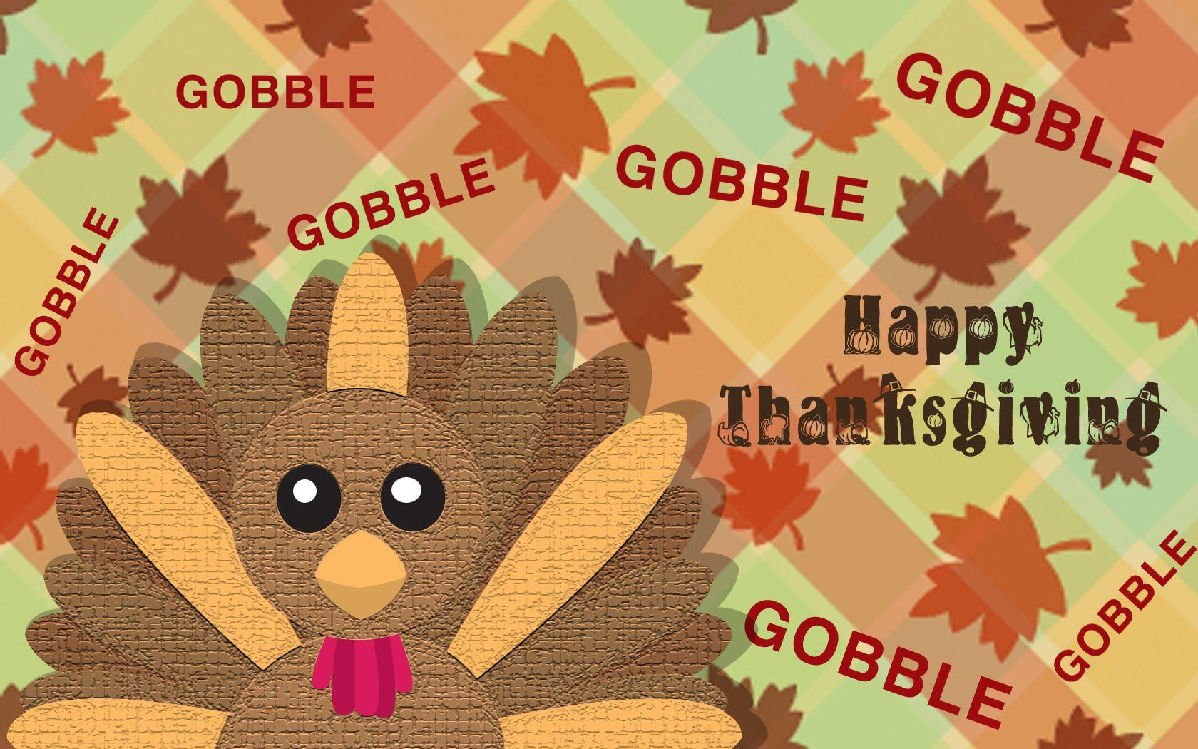 Free Cute Thanksgiving Background « Long Wallpapers
