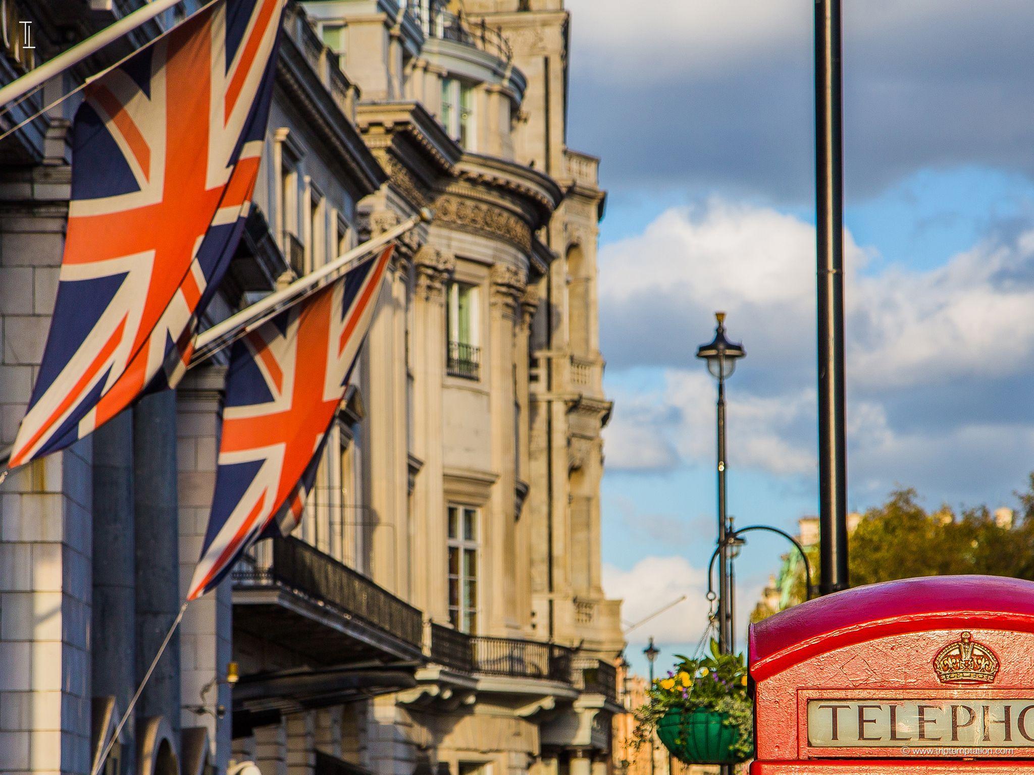 флаг лондона фото утрам