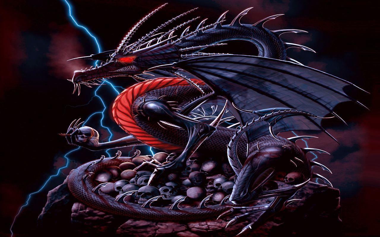 Evil Fire Dragon: Evil Dragon Wallpapers