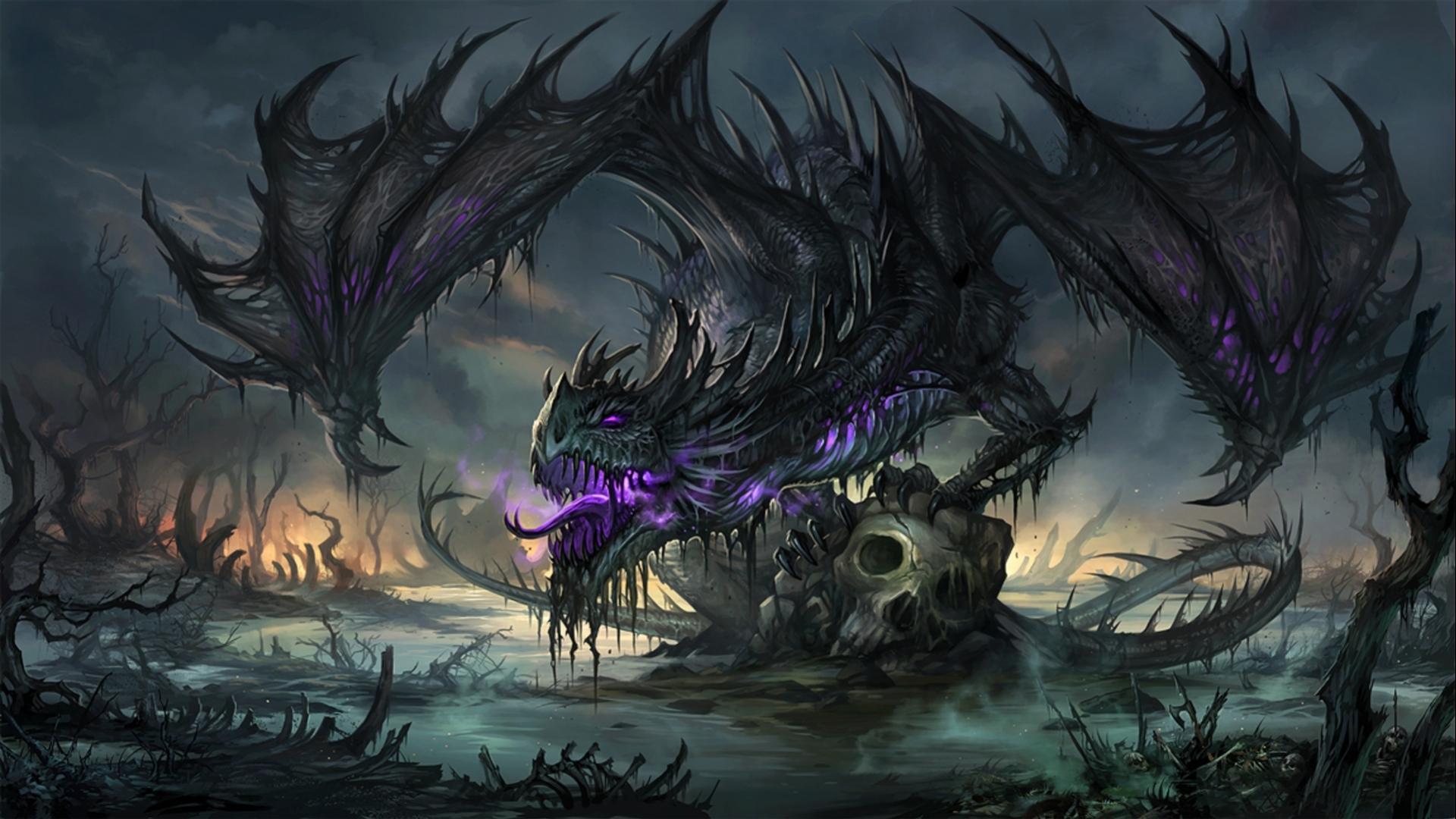Evil Dragon Wallpapers - Wallpaper Cave