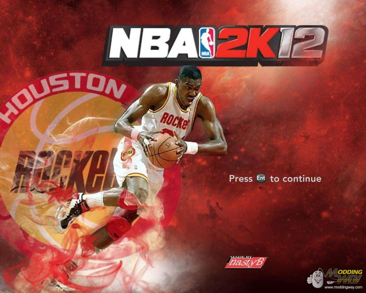 Hakeem Olajuwon Title Screen