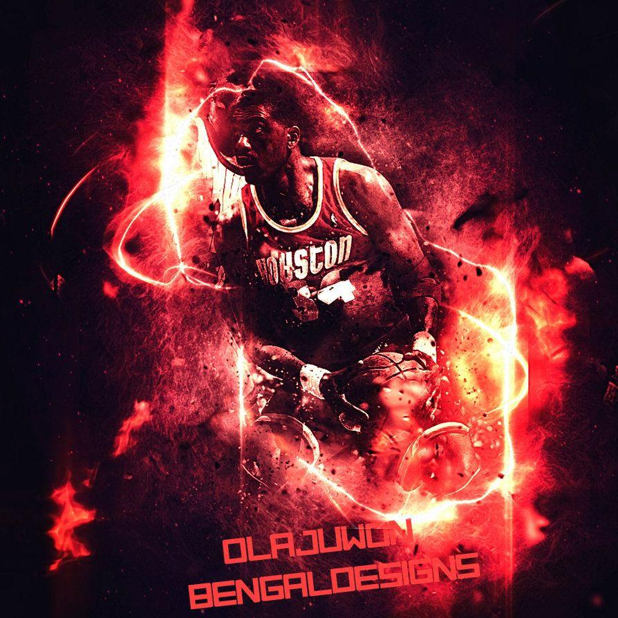 Hakeem Olajuwon Design By BengalDesigns by bengalbro