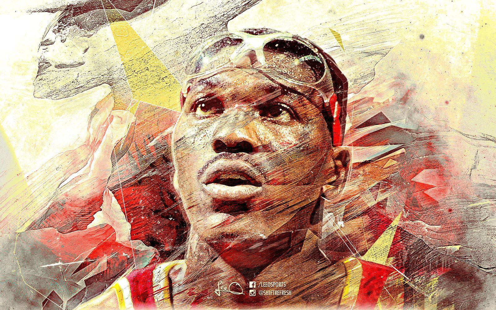 Hakeem Olajuwon NBA Wallpapers by skythlee