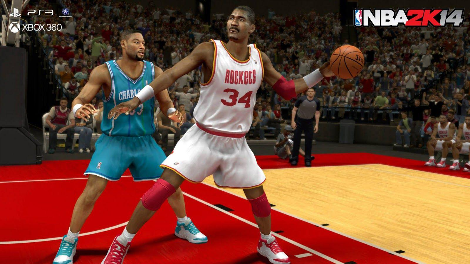 Legends and Historic Teams Back in NBA 2k14 : Michael Jordan Dunk