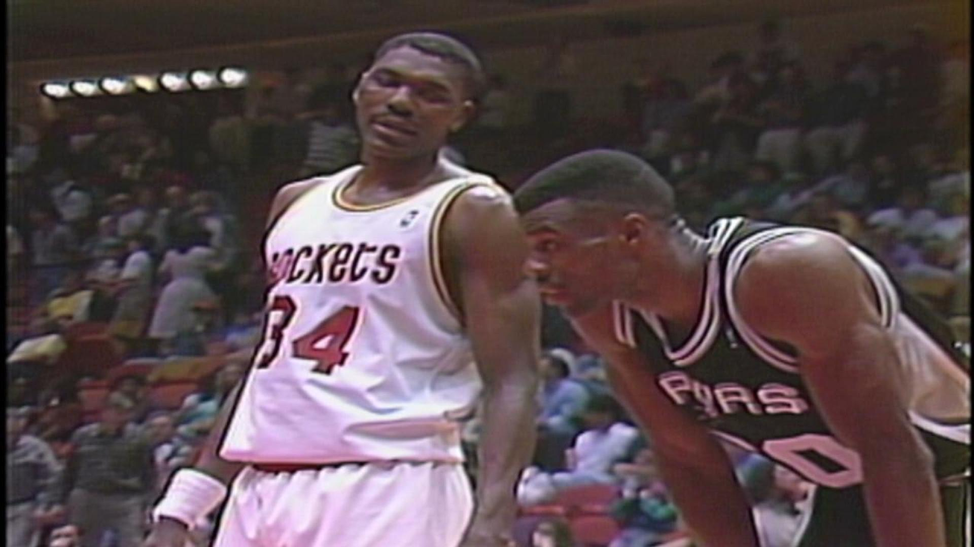 Legends profile: Hakeem Olajuwon