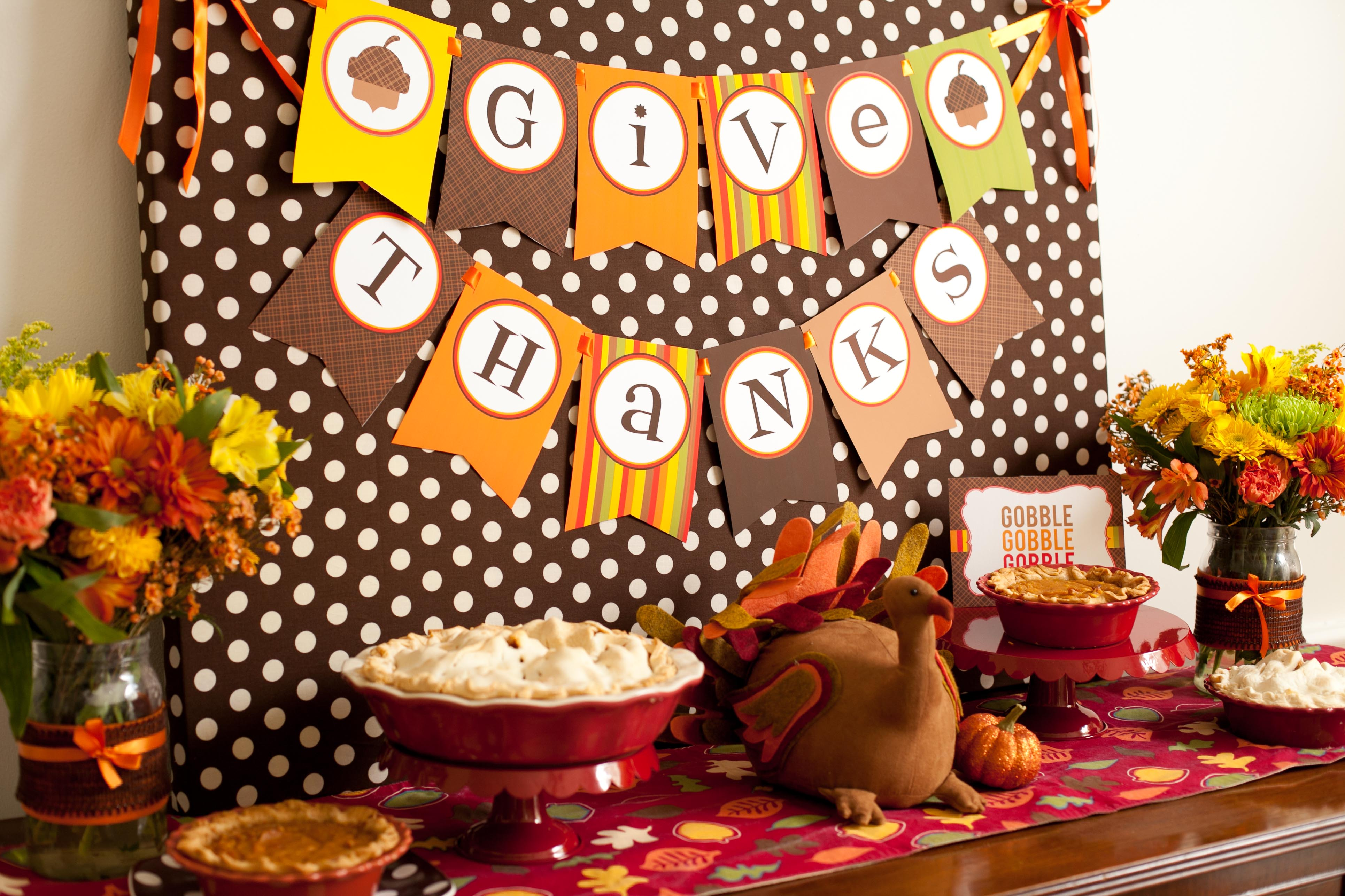 Happy Thanksgiving Decoration Ideas & Images Free Download