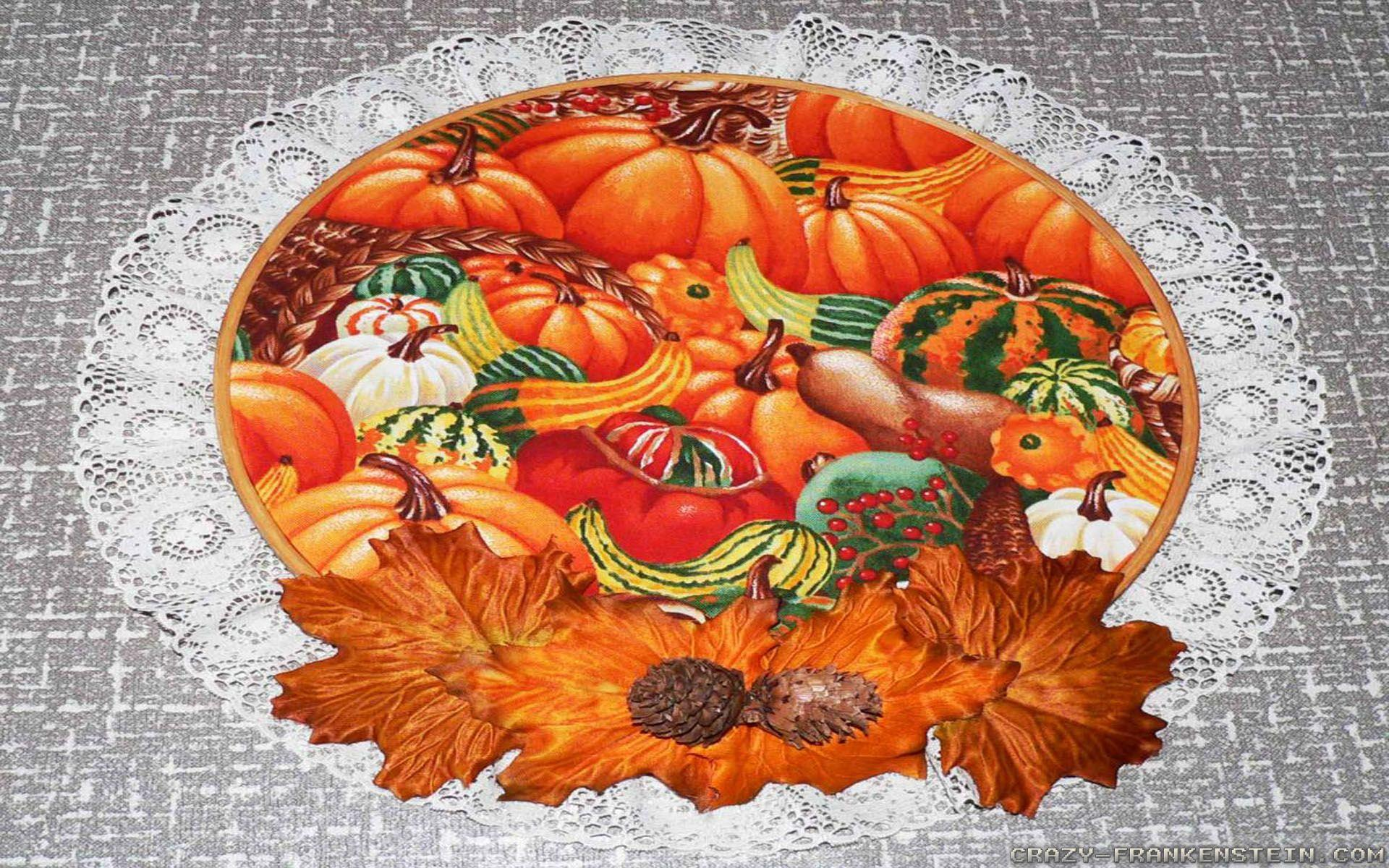 Thanksgiving Day Decorations wallpapers - Crazy Frankenstein