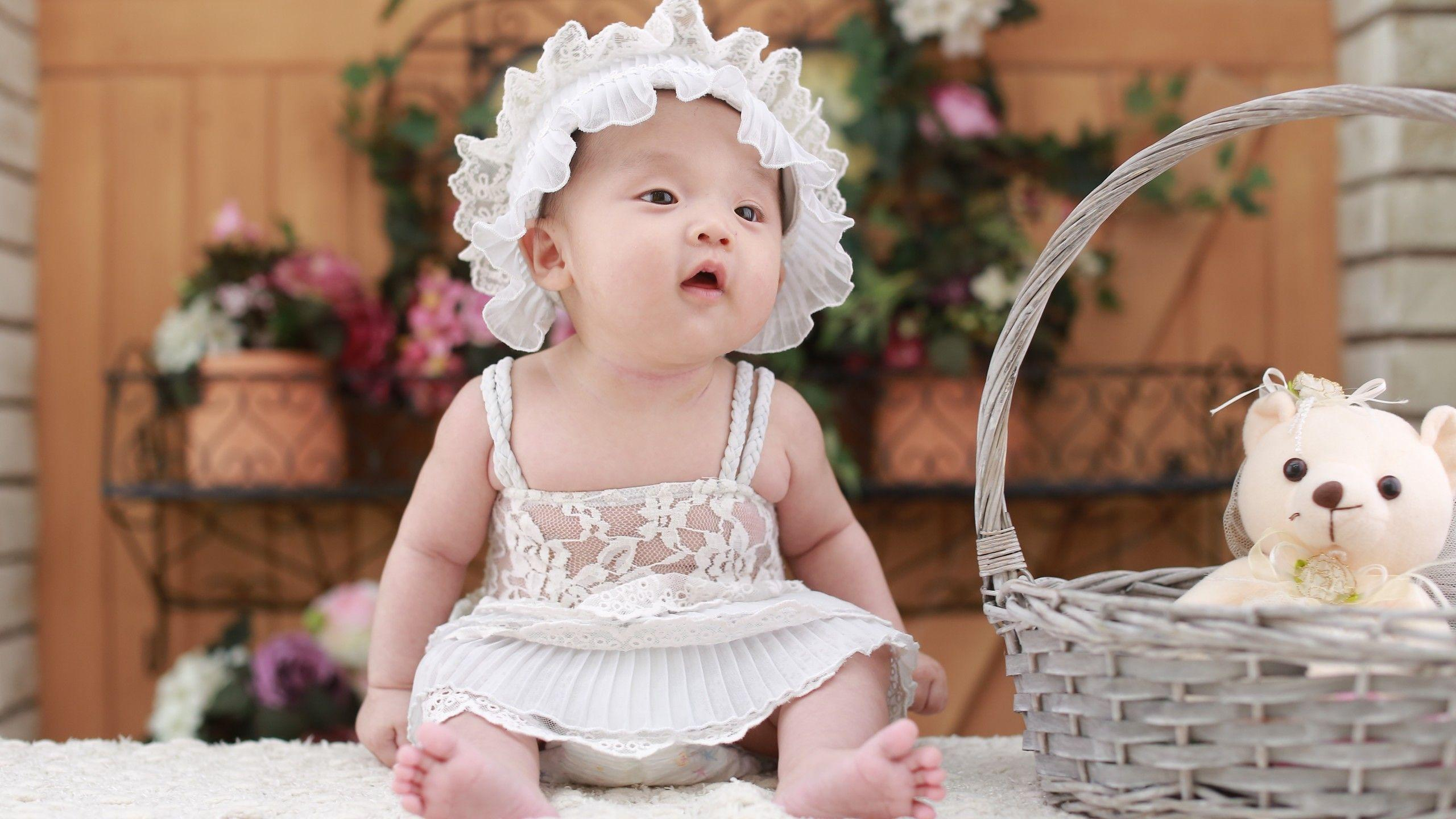 Cute Baby Girls Wallpapers Wallpaper Cave