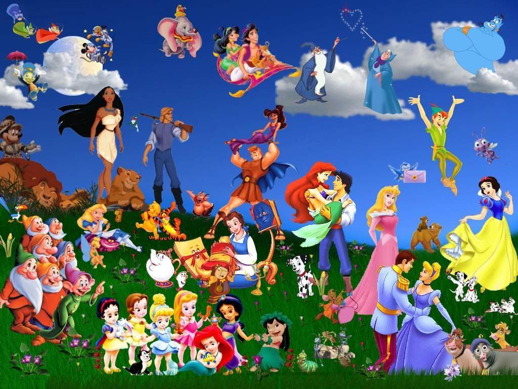 Disney Cartoons Wallpapers Wallpaper Cave