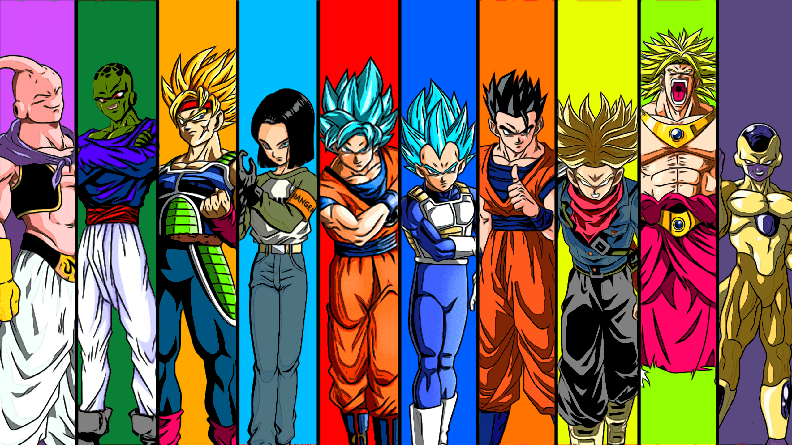 Dragon Ball Movie Wallpaper: Android 17 Wallpapers