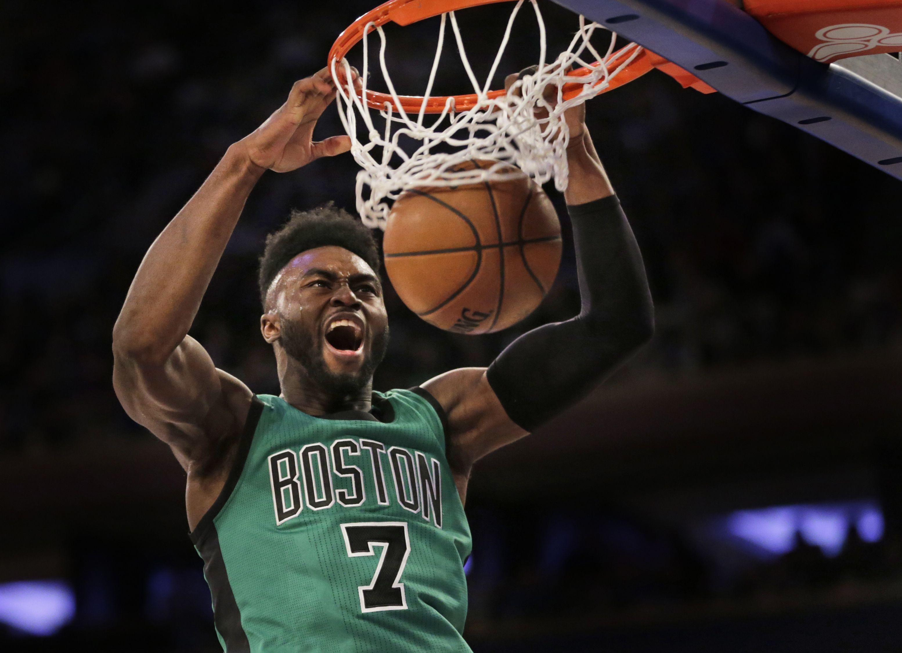 Jaylen Brown ready for starting role alongside Celtics' Big Three