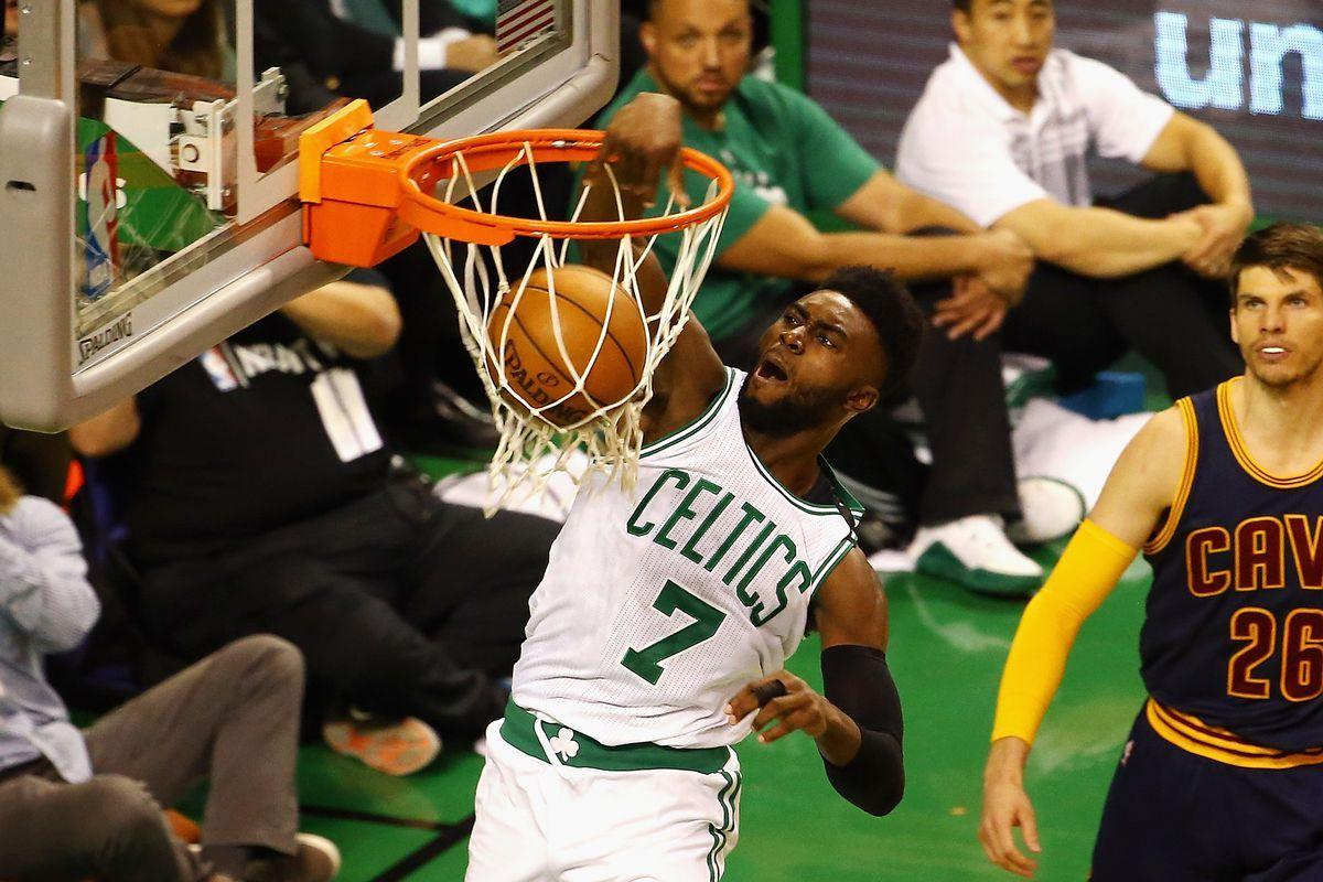 Jaylen Brown soared through the rookie wall