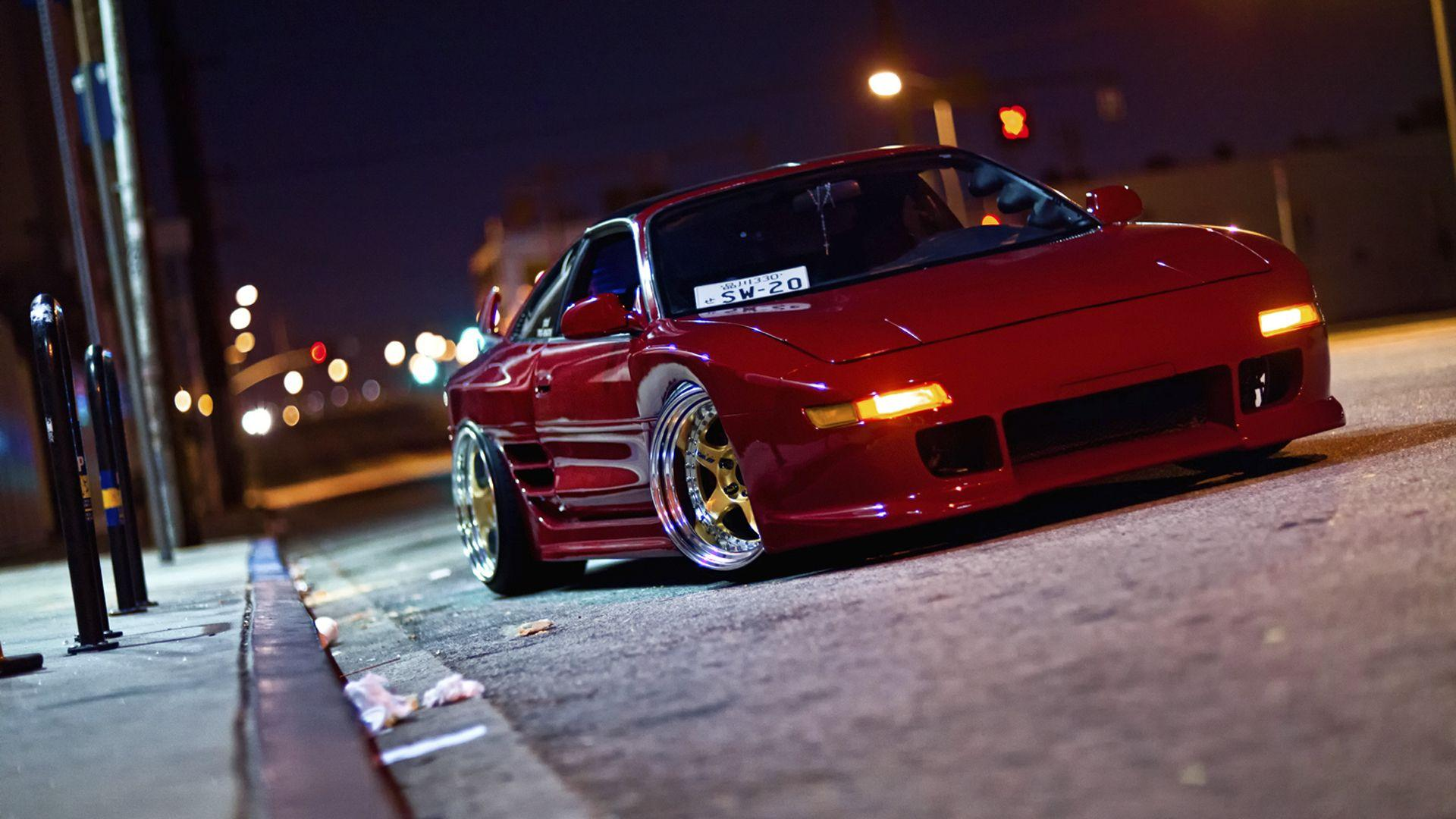 Toyota MR2 Stance wallpapers