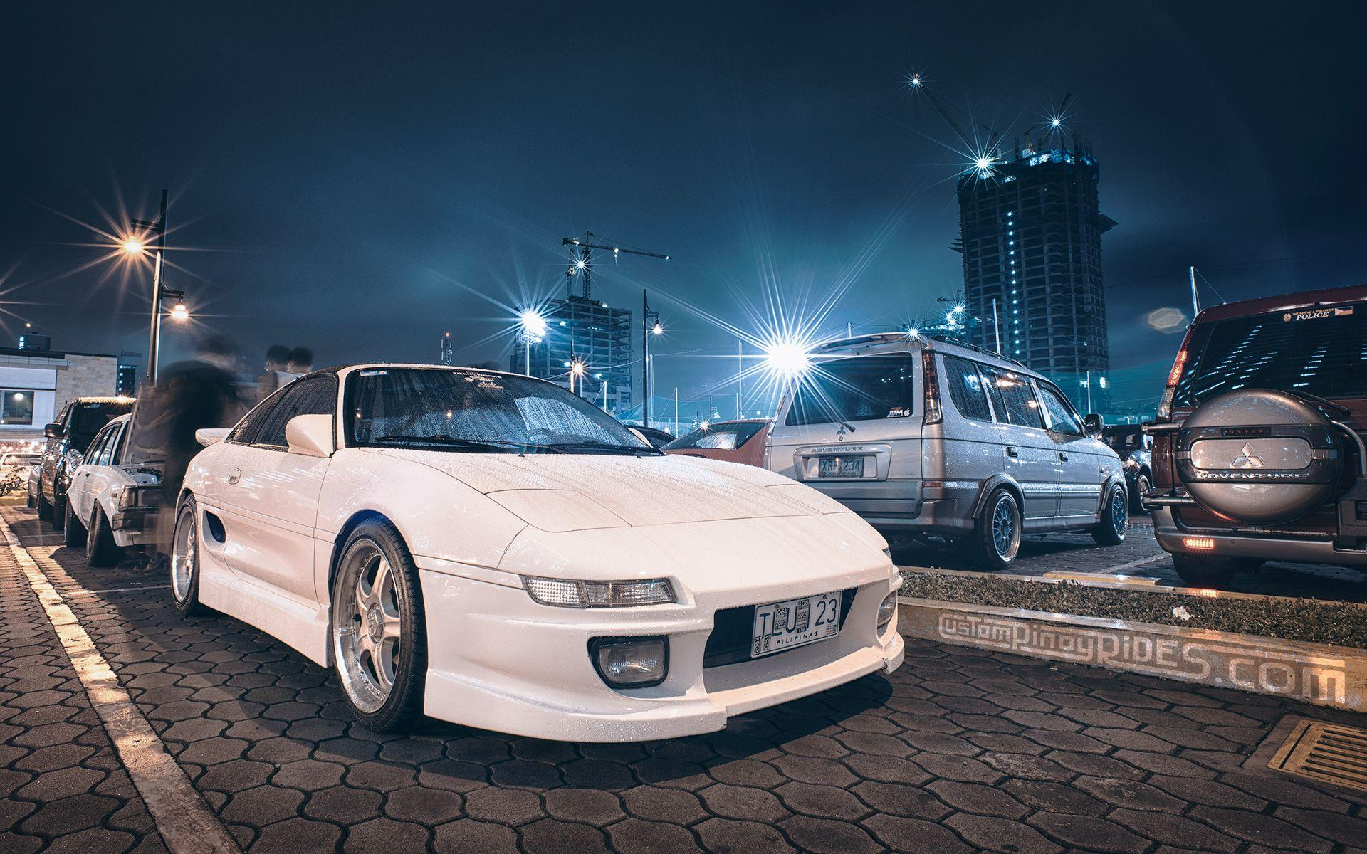 Wallpapers Wednesdays: An MR2 to Light Up the Night