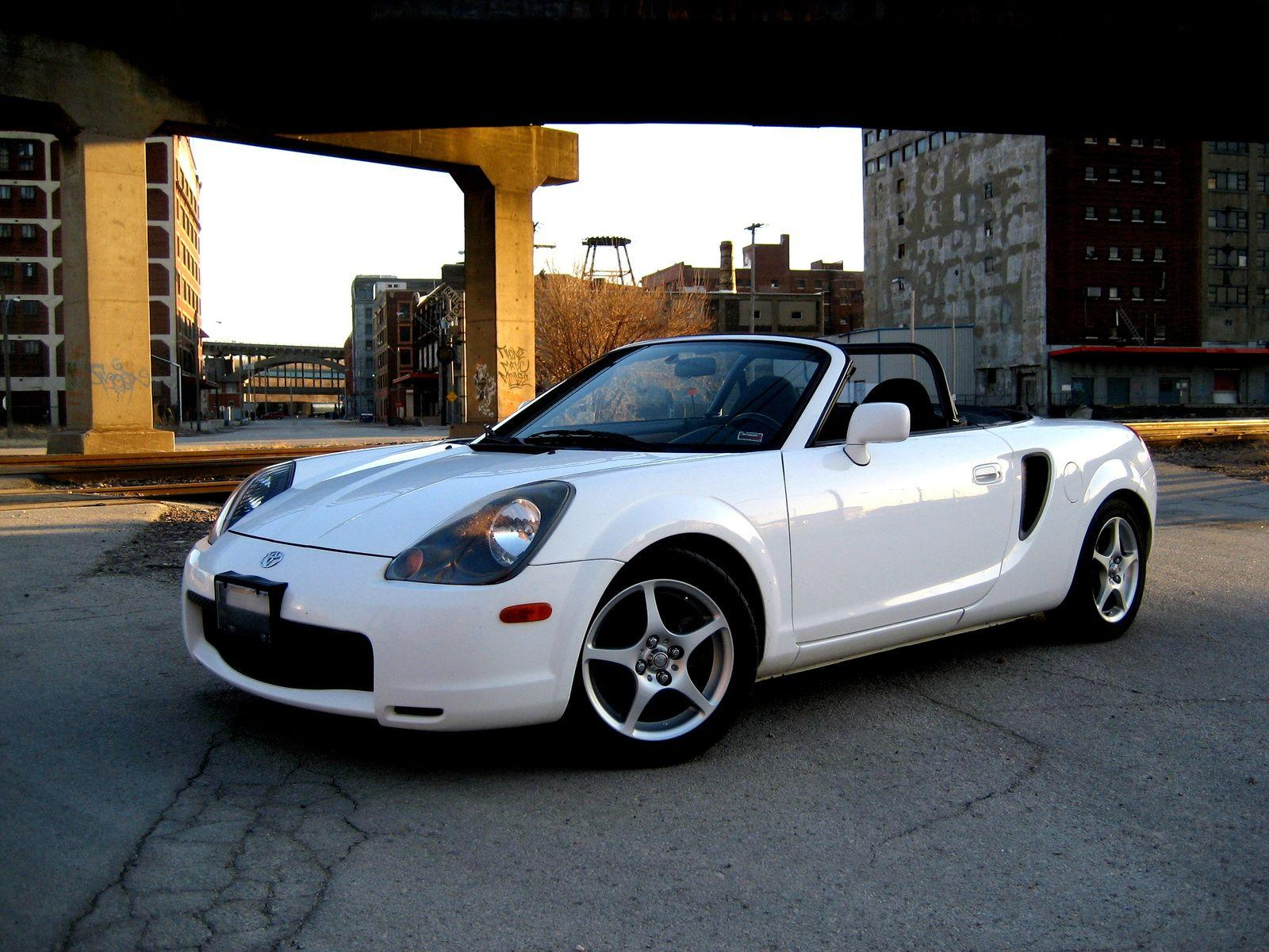 Toyota MR2 Spyder 2001 wallpapers